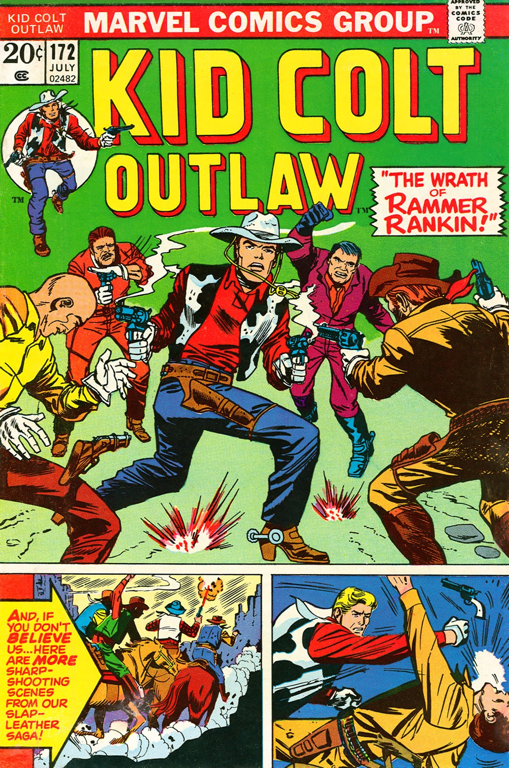 Kid Colt Outlaw issue 172 - Page 1