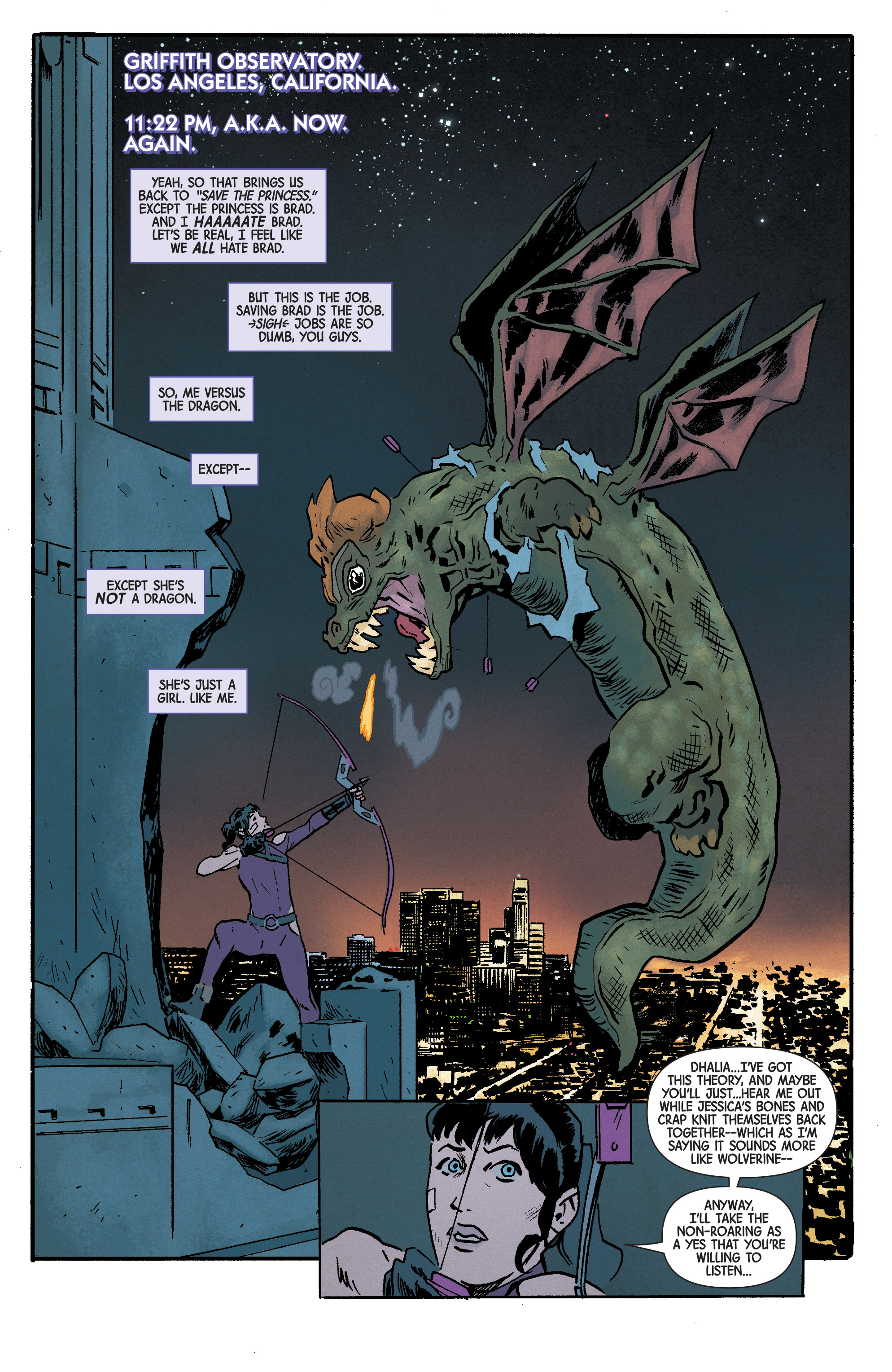 Read online Hawkeye (2016) comic -  Issue #6 - 16