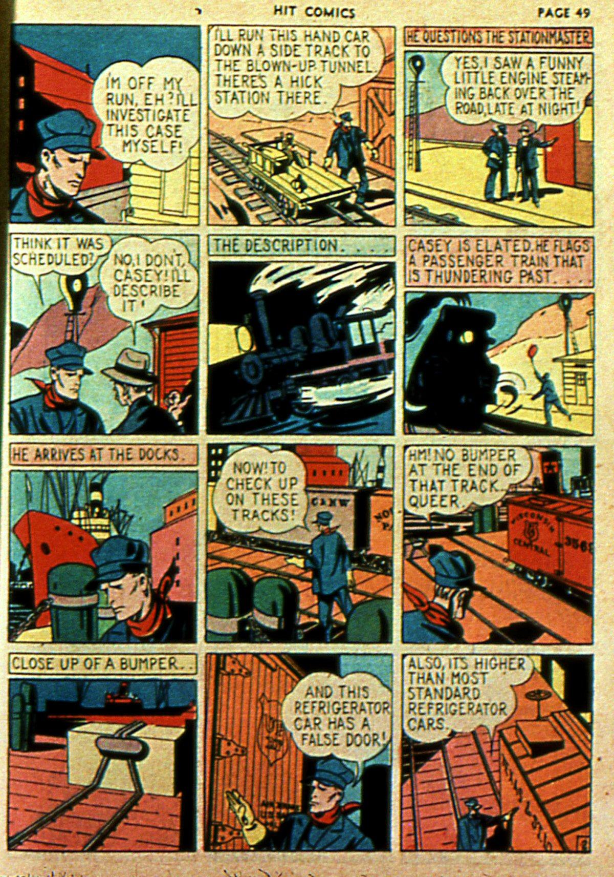 Read online Hit Comics comic -  Issue #2 - 51