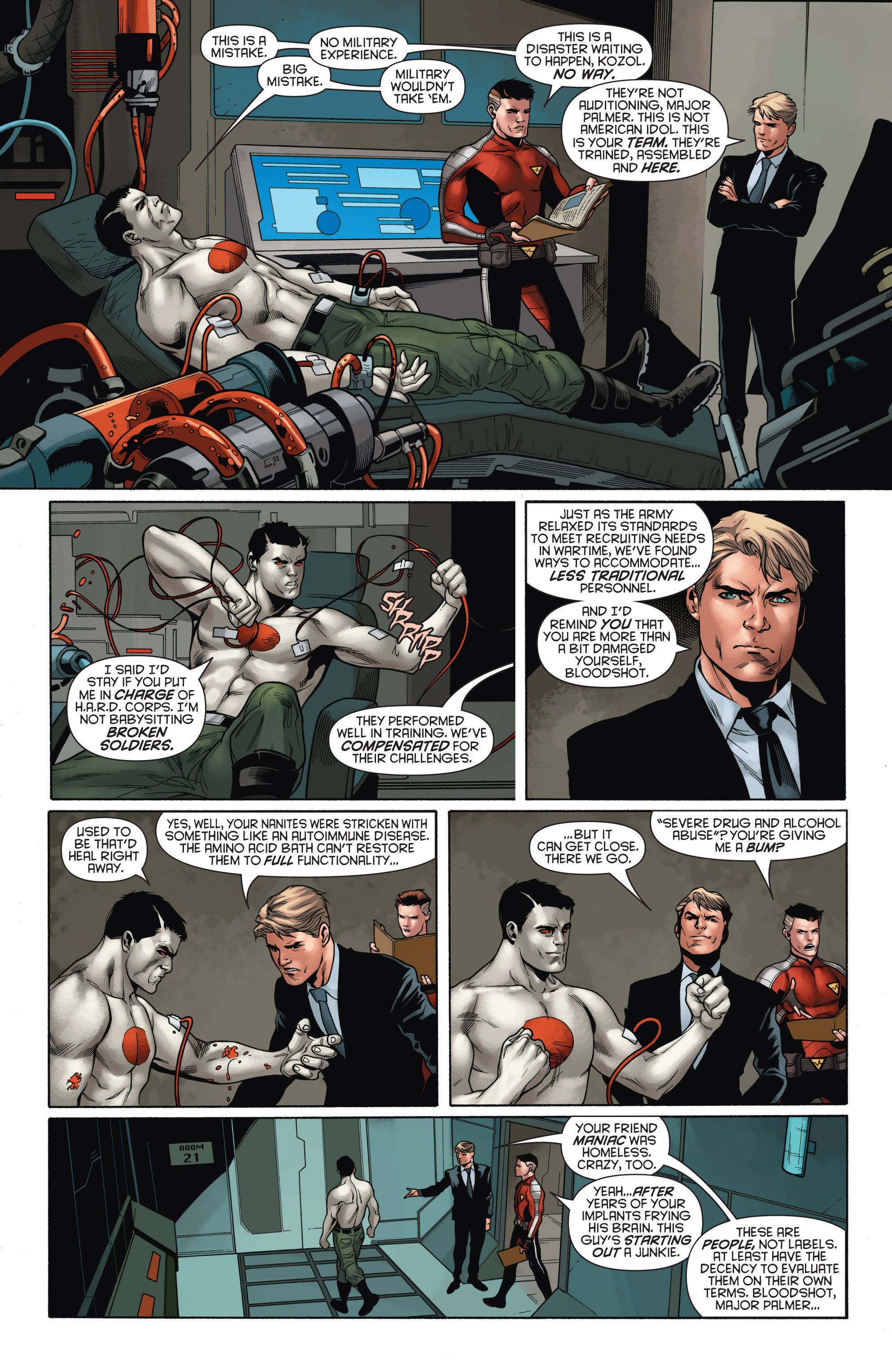 Read online Bloodshot and H.A.R.D.Corps comic -  Issue # TPB 4 - 54