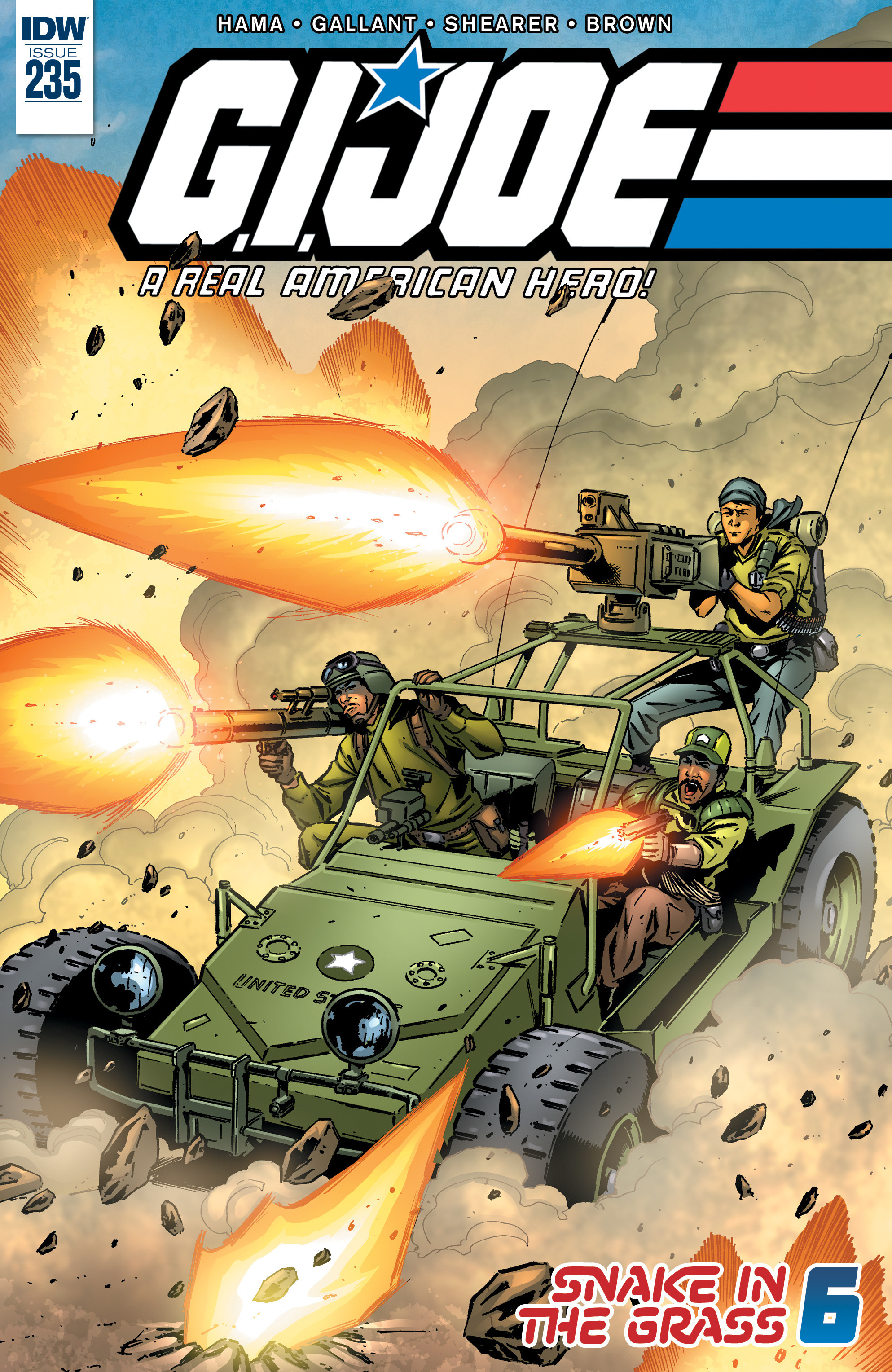 G.I. Joe: A Real American Hero 235 Page 1
