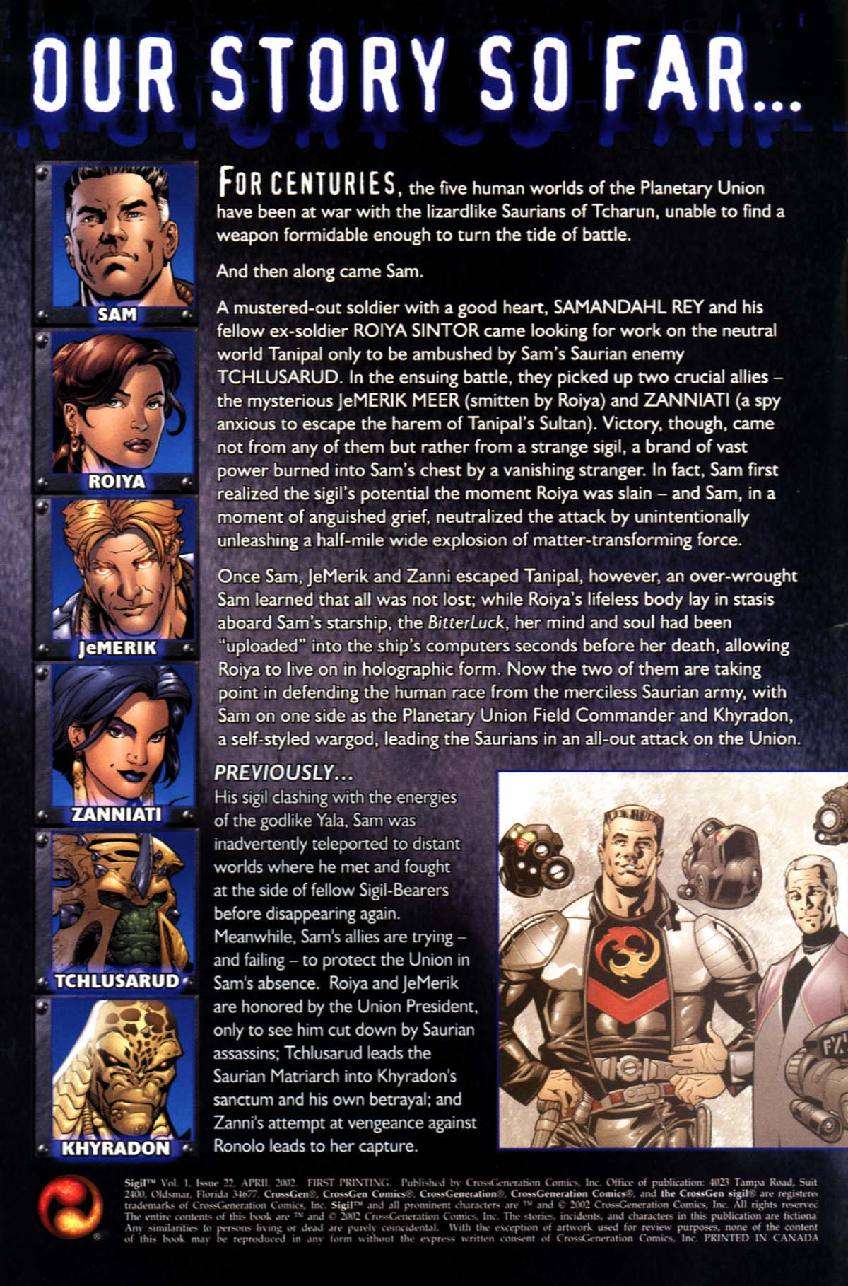 Read online Sigil (2000) comic -  Issue #22 - 2