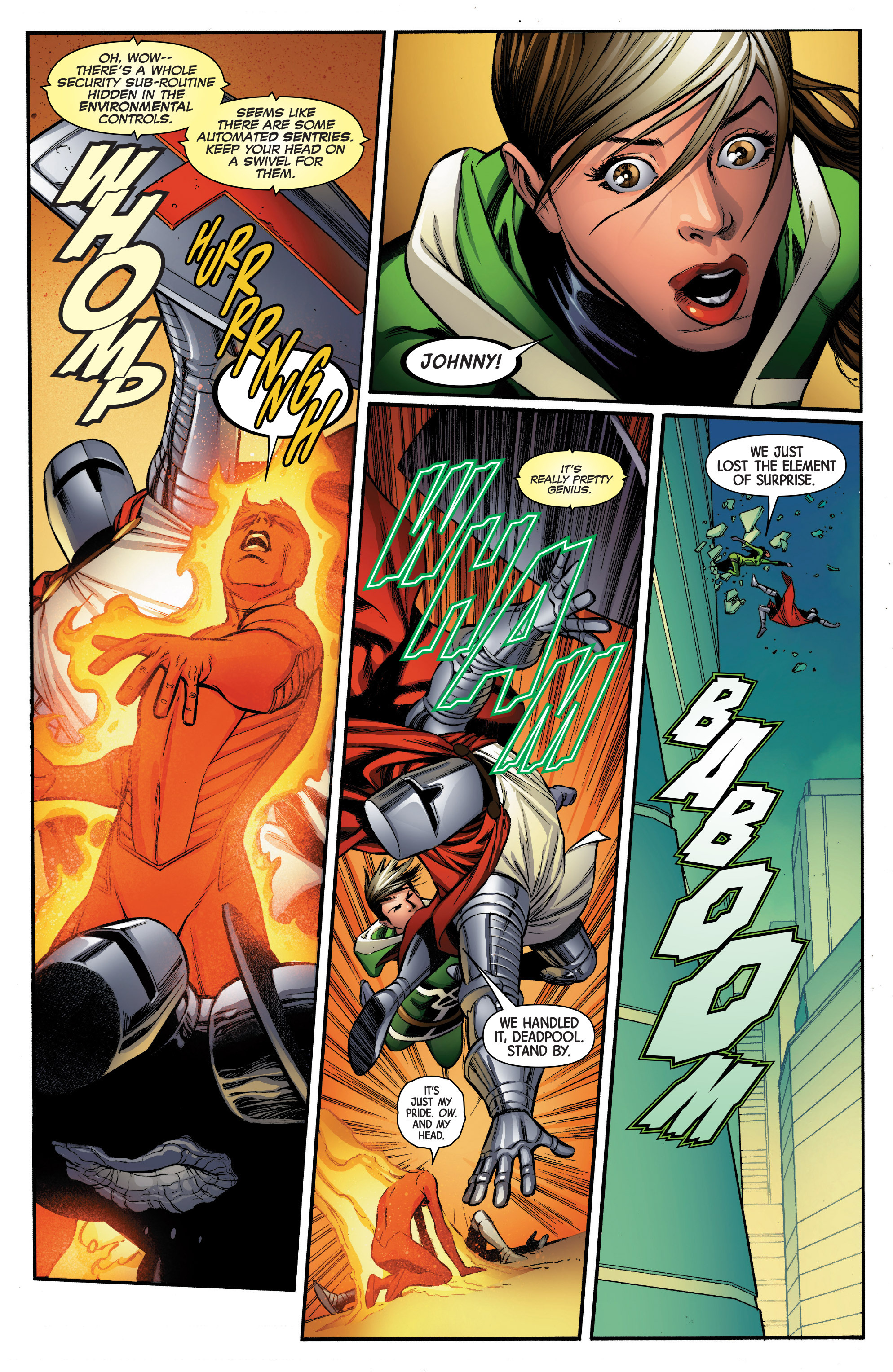 Read online Uncanny Avengers [II] comic -  Issue #5 - 16
