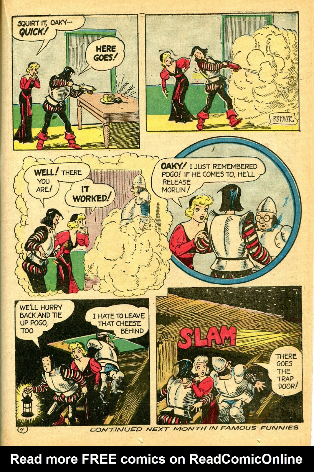 Read online Famous Funnies comic -  Issue #108 - 45