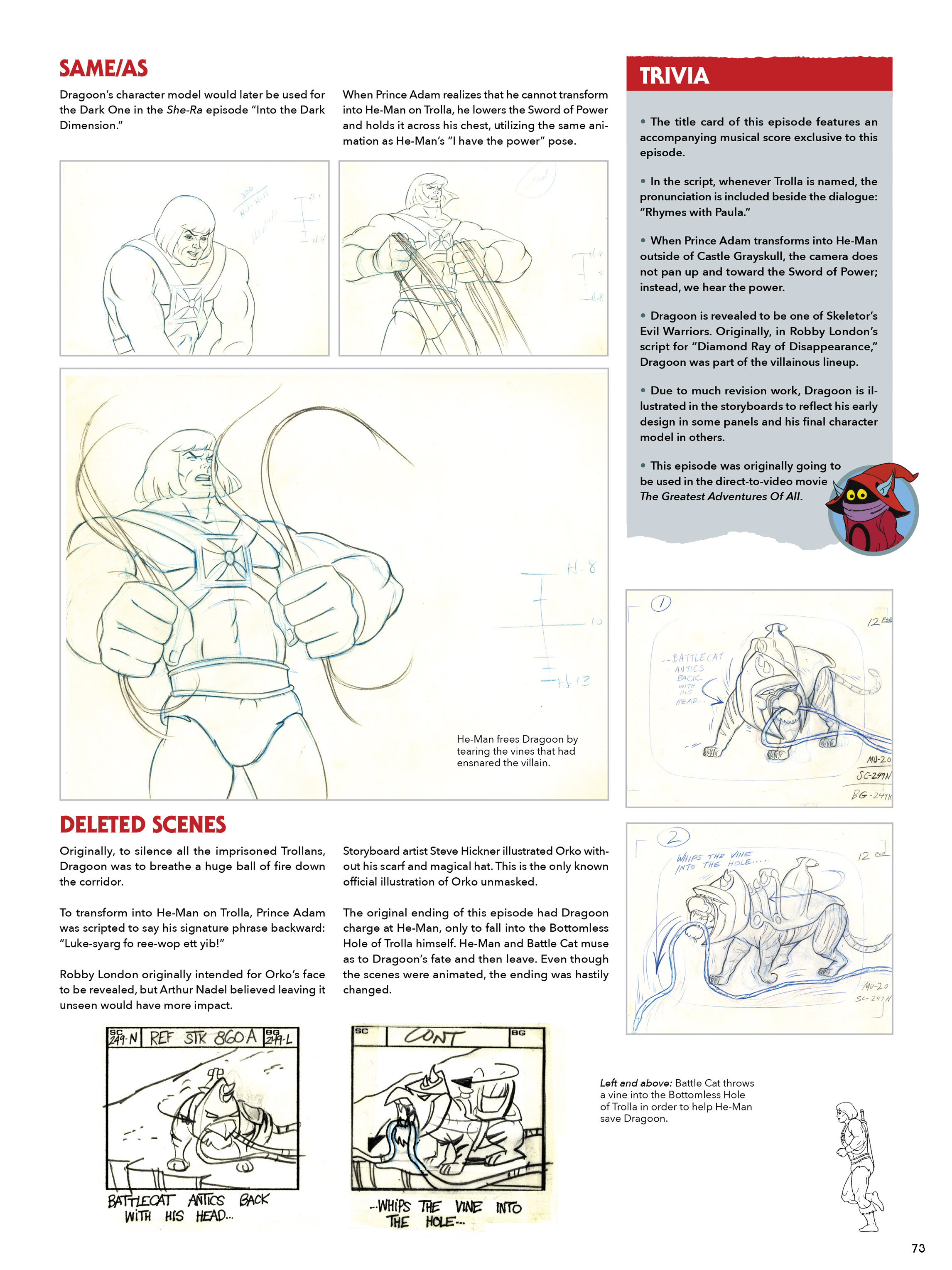 Read online He-Man and She-Ra: A Complete Guide to the Classic Animated Adventures comic -  Issue # TPB (Part 1) - 73