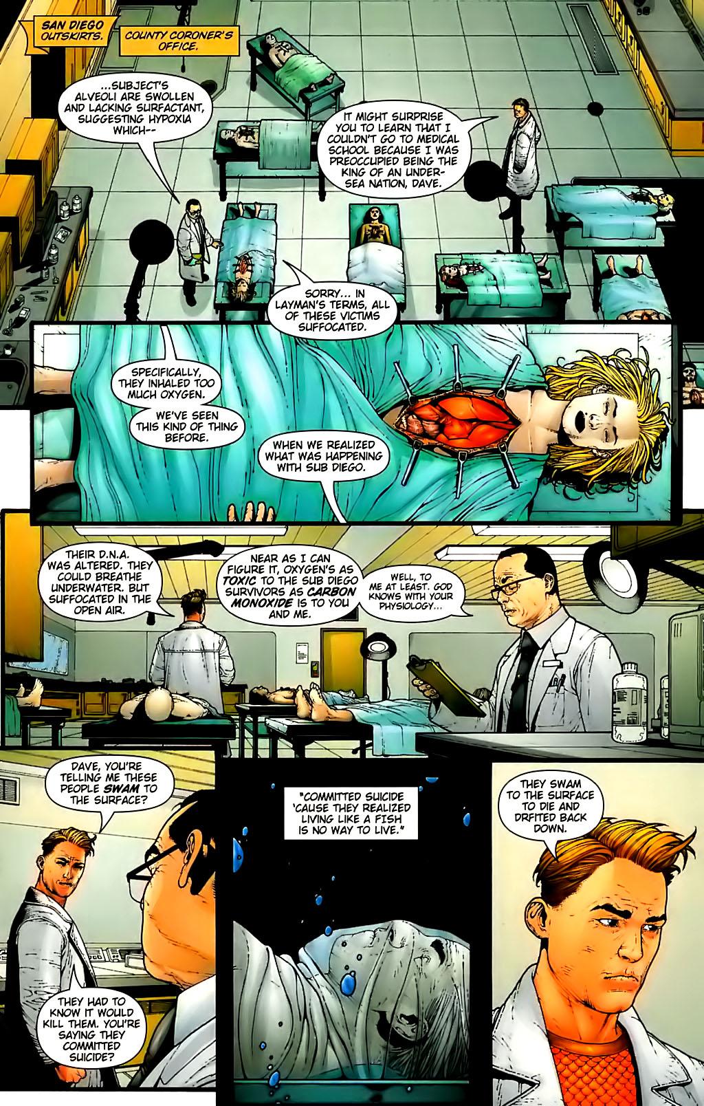 Read online Aquaman (2003) comic -  Issue #30 - 9