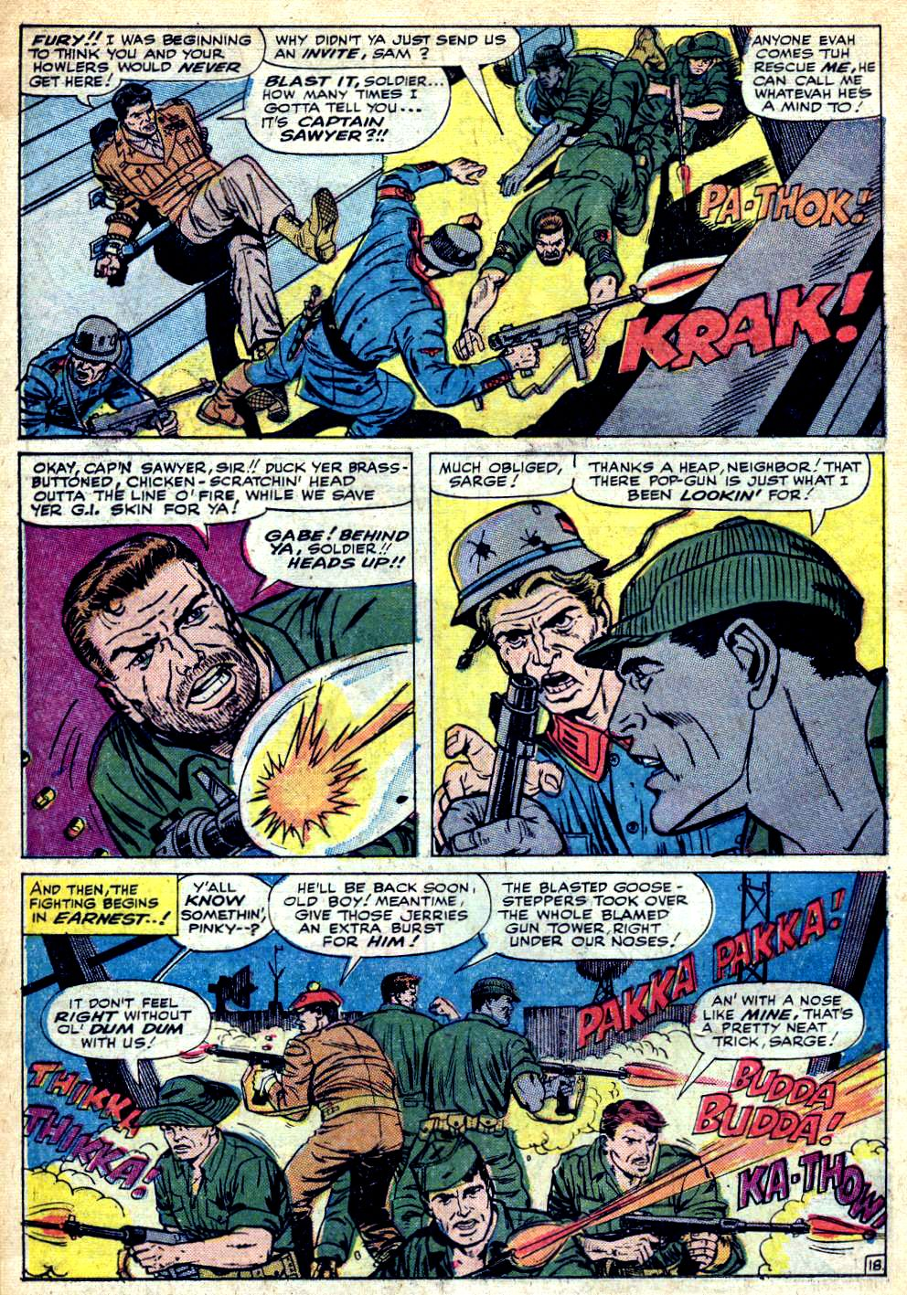 Read online Sgt. Fury comic -  Issue #25 - 26