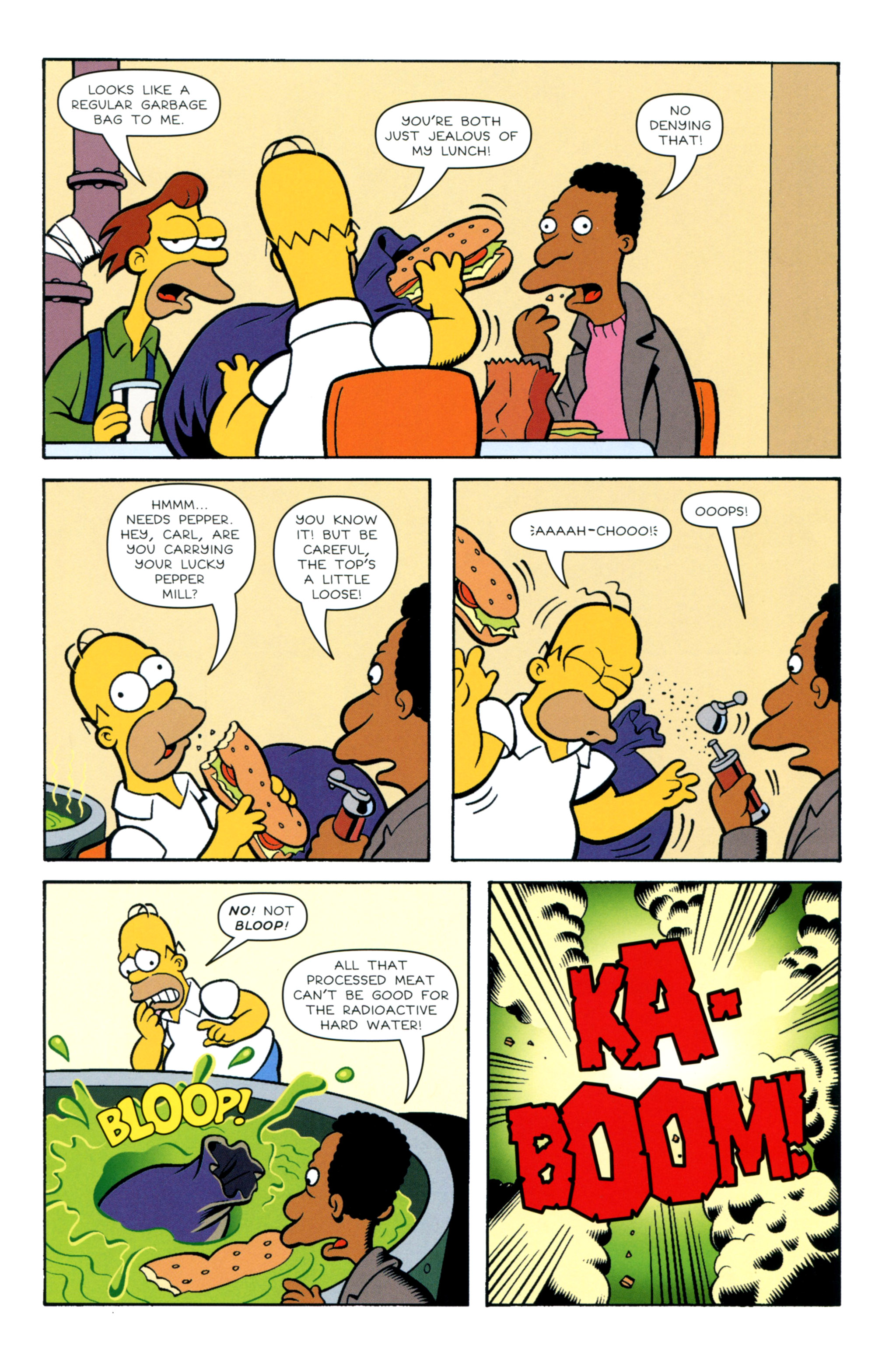Read online Simpsons Illustrated (2012) comic -  Issue #12 - 37