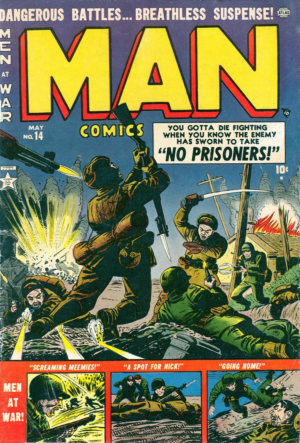 Man Comics 14 Page 1