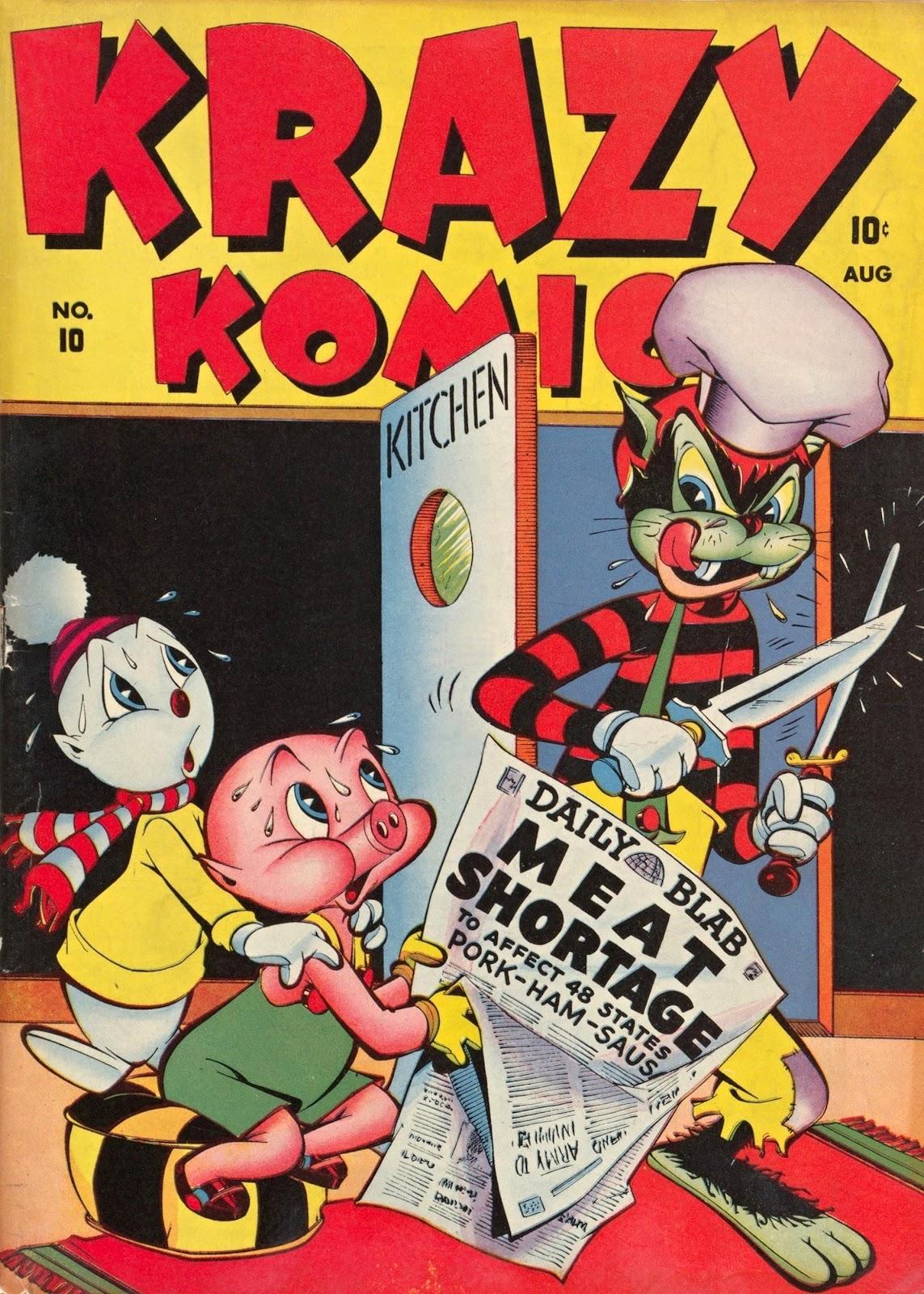 Krazy Komics (1942) issue 10 - Page 1