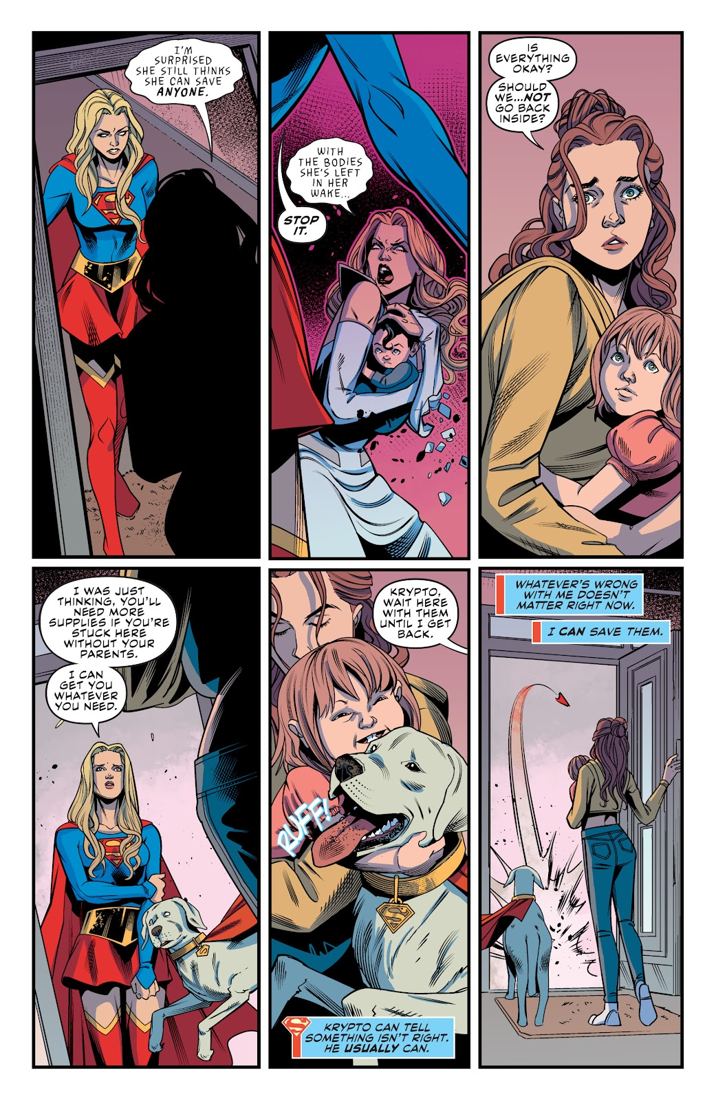 Read online Supergirl (2016) comic -  Issue #41 - 15
