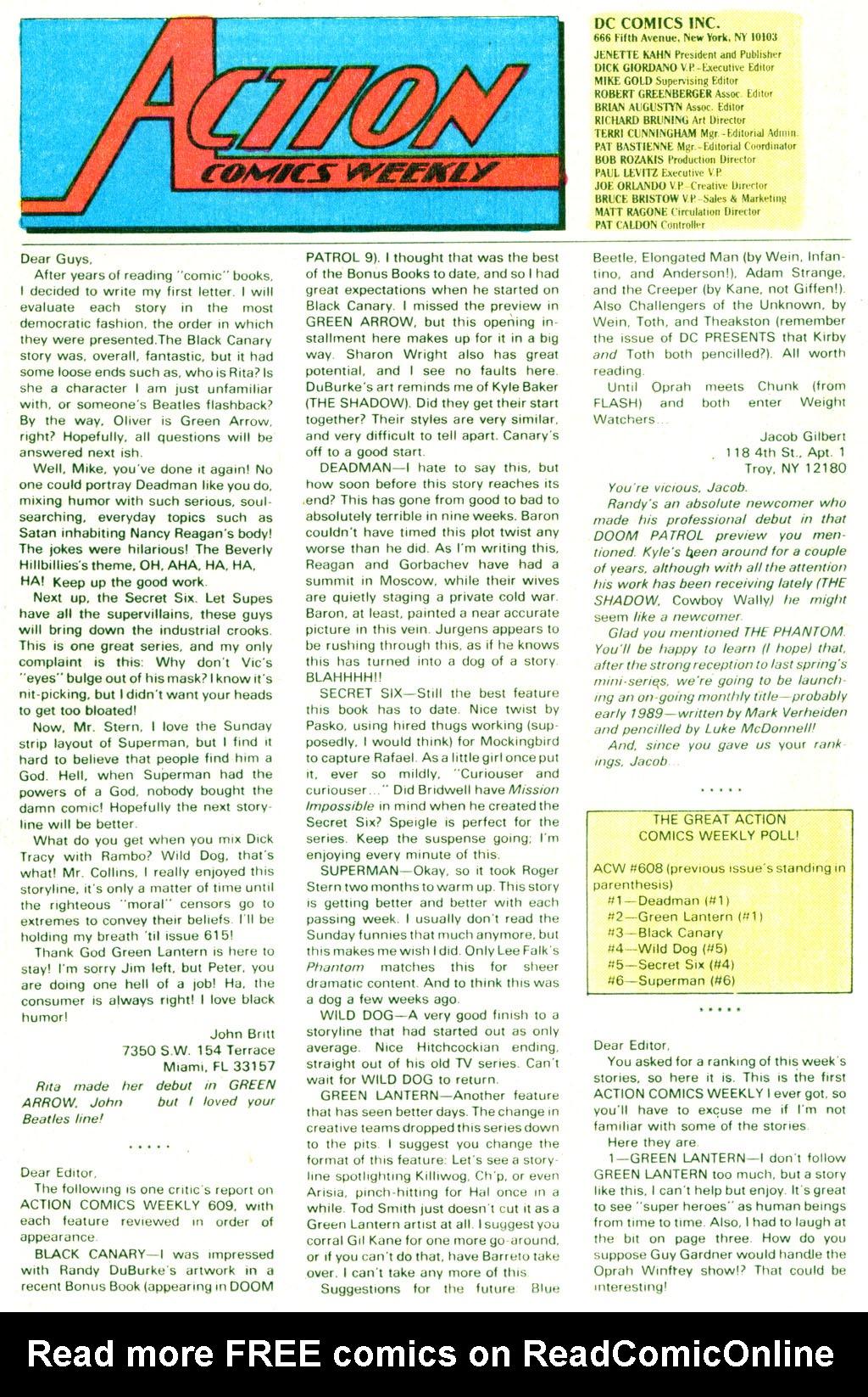 Action Comics (1938) 620 Page 33