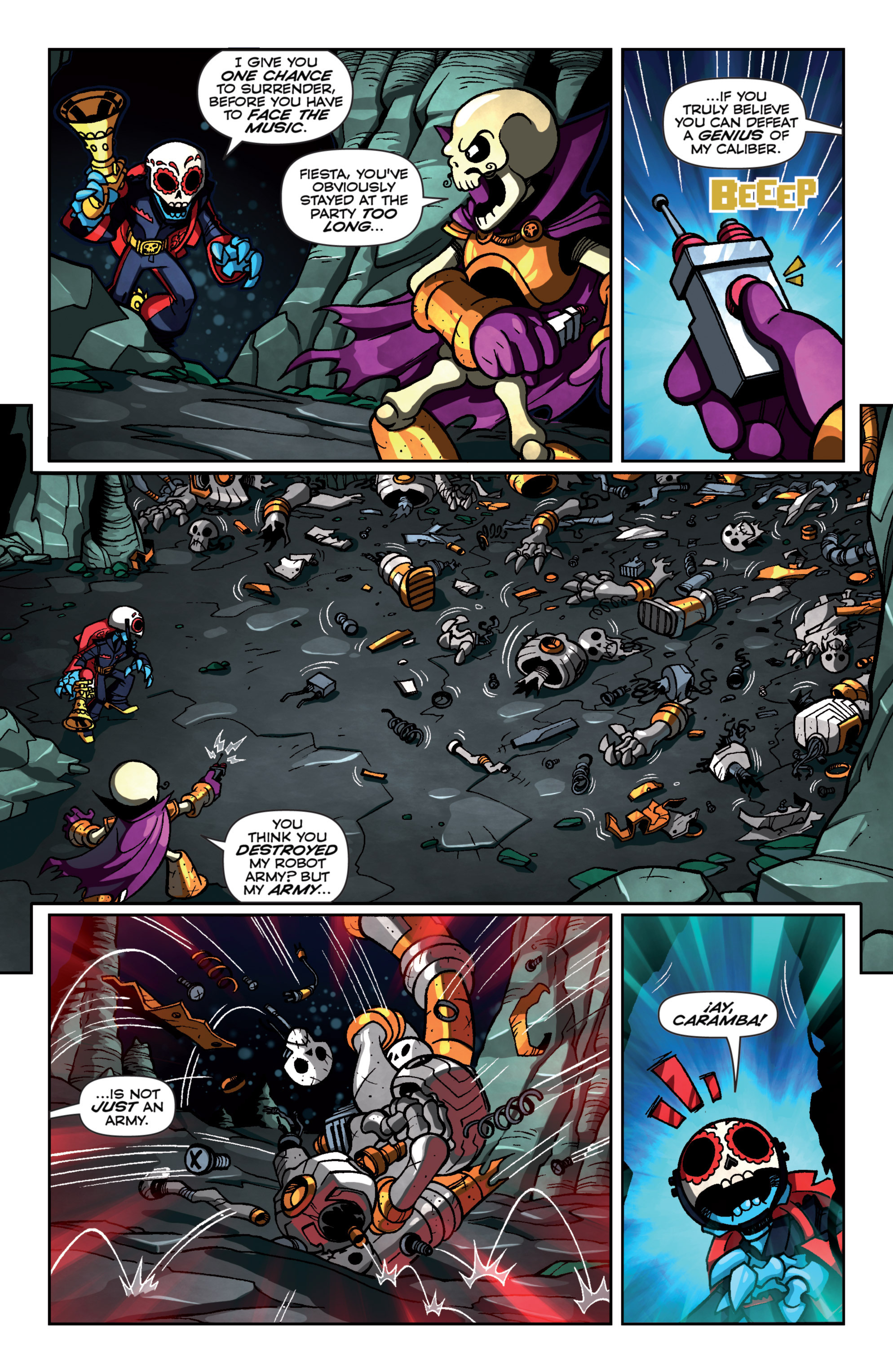 Read online Skylanders Superchargers comic -  Issue #4 - 15