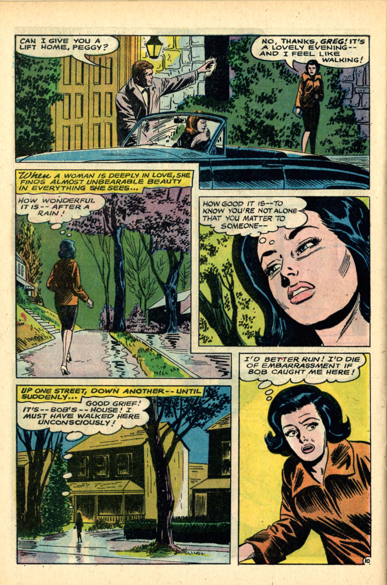 Read online Secret Hearts comic -  Issue #120 - 28