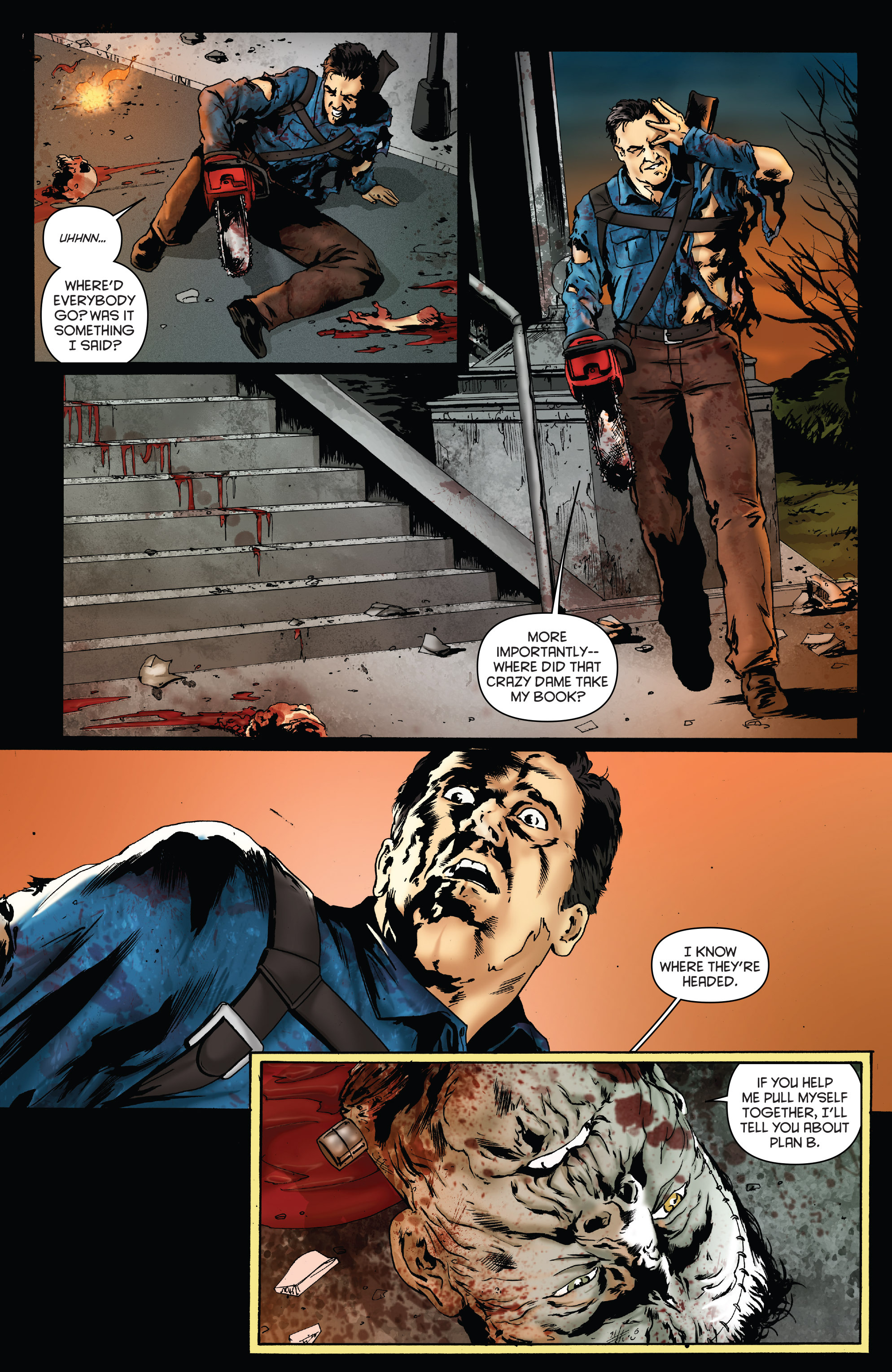 Read online Army of Darkness: Furious Road comic -  Issue #4 - 23