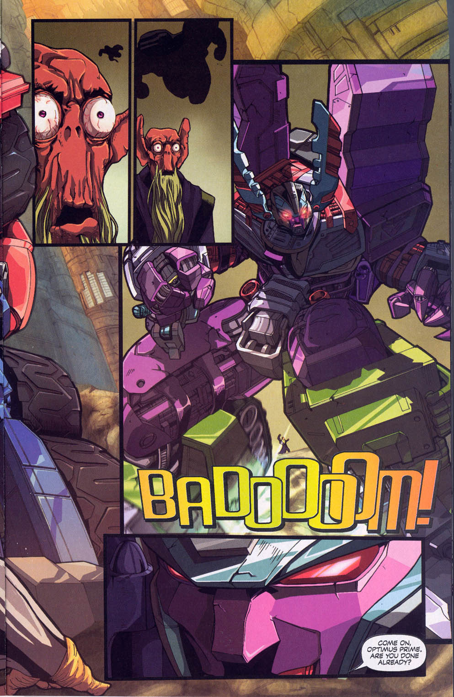 Read online Transformers Armada comic -  Issue #0 - 7