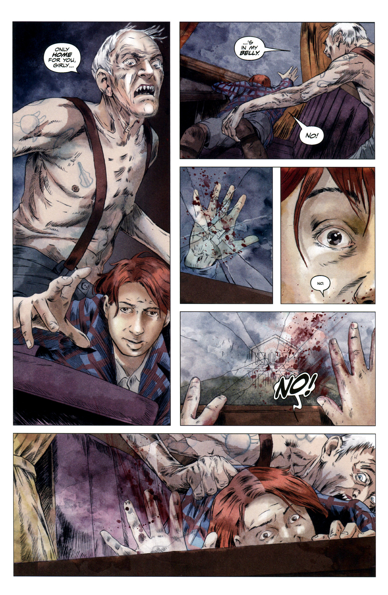 Read online Severed comic -  Issue #4 - 18
