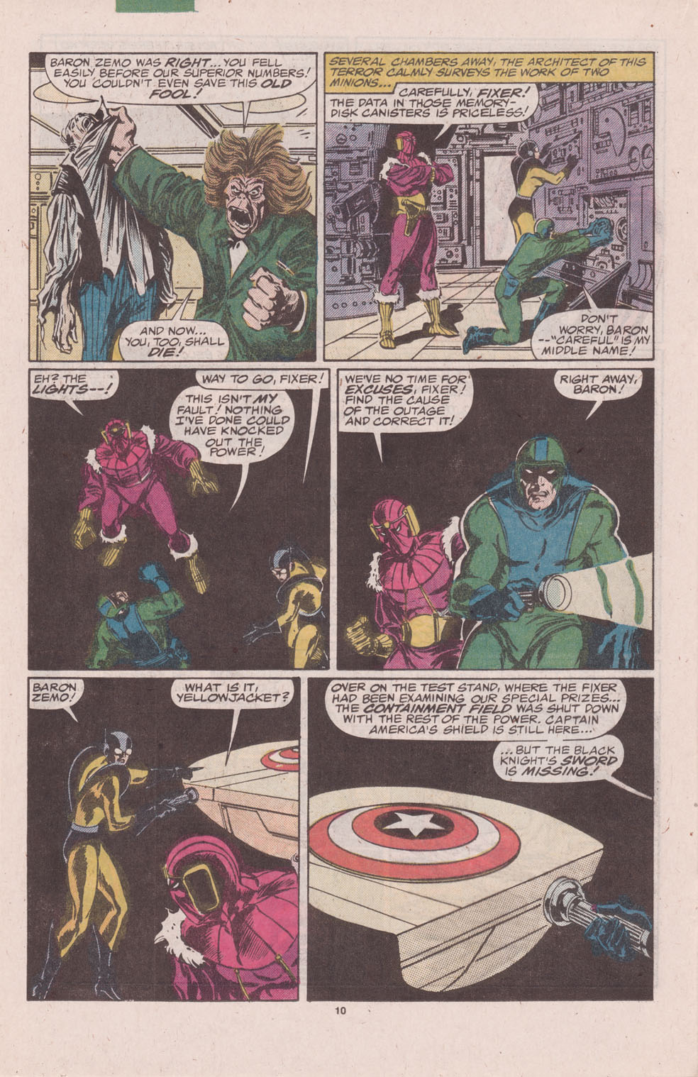 The Avengers (1963) 276 Page 10