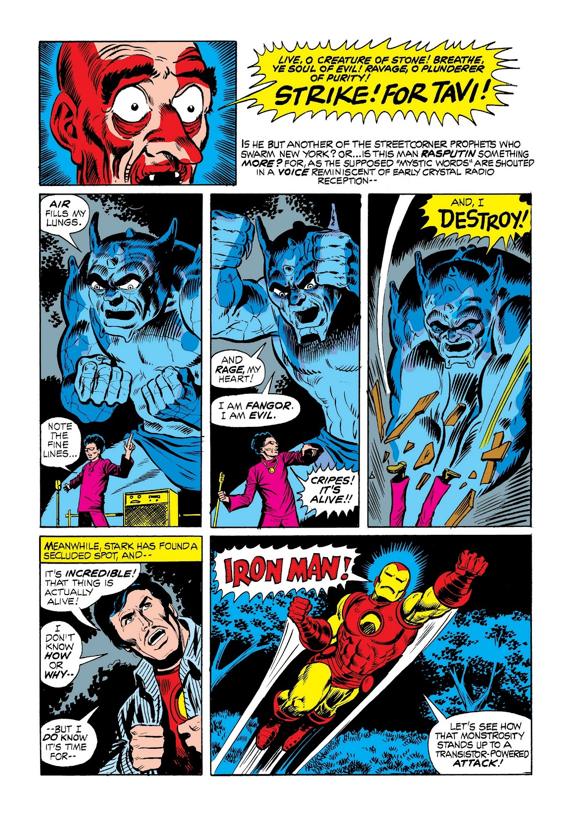 Read online Marvel Masterworks: The Invincible Iron Man comic -  Issue # TPB 9 (Part 1) - 59