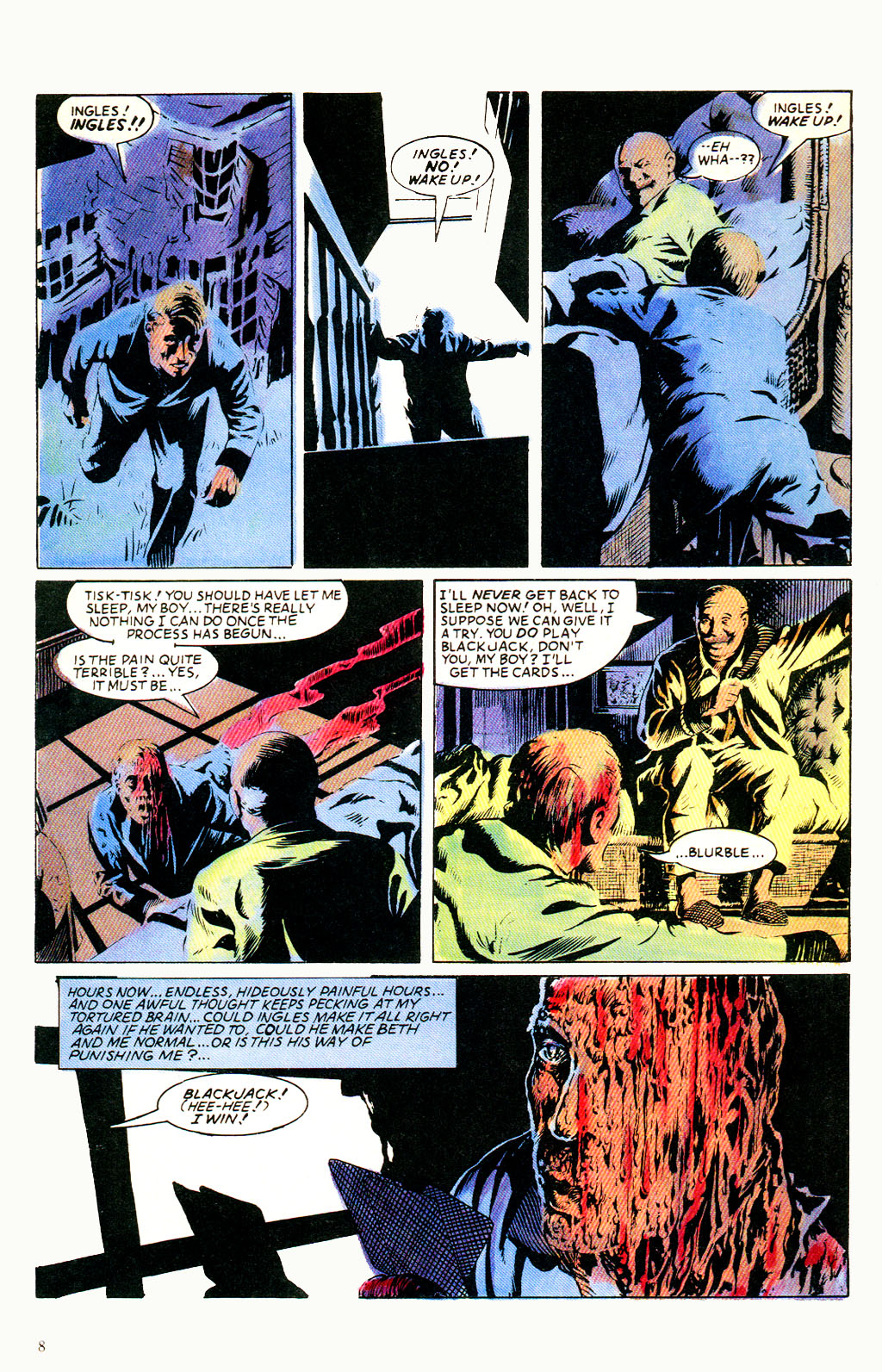 Read online Twisted Tales (1982) comic -  Issue #6 - 10