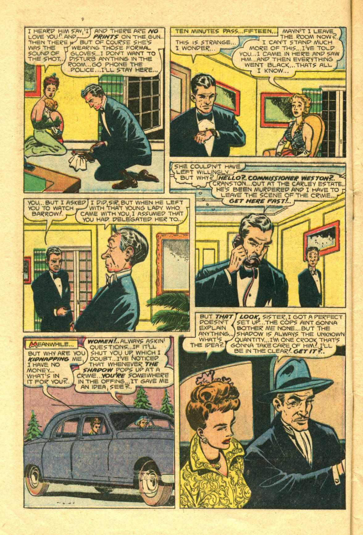 Read online Shadow Comics comic -  Issue #98 - 6