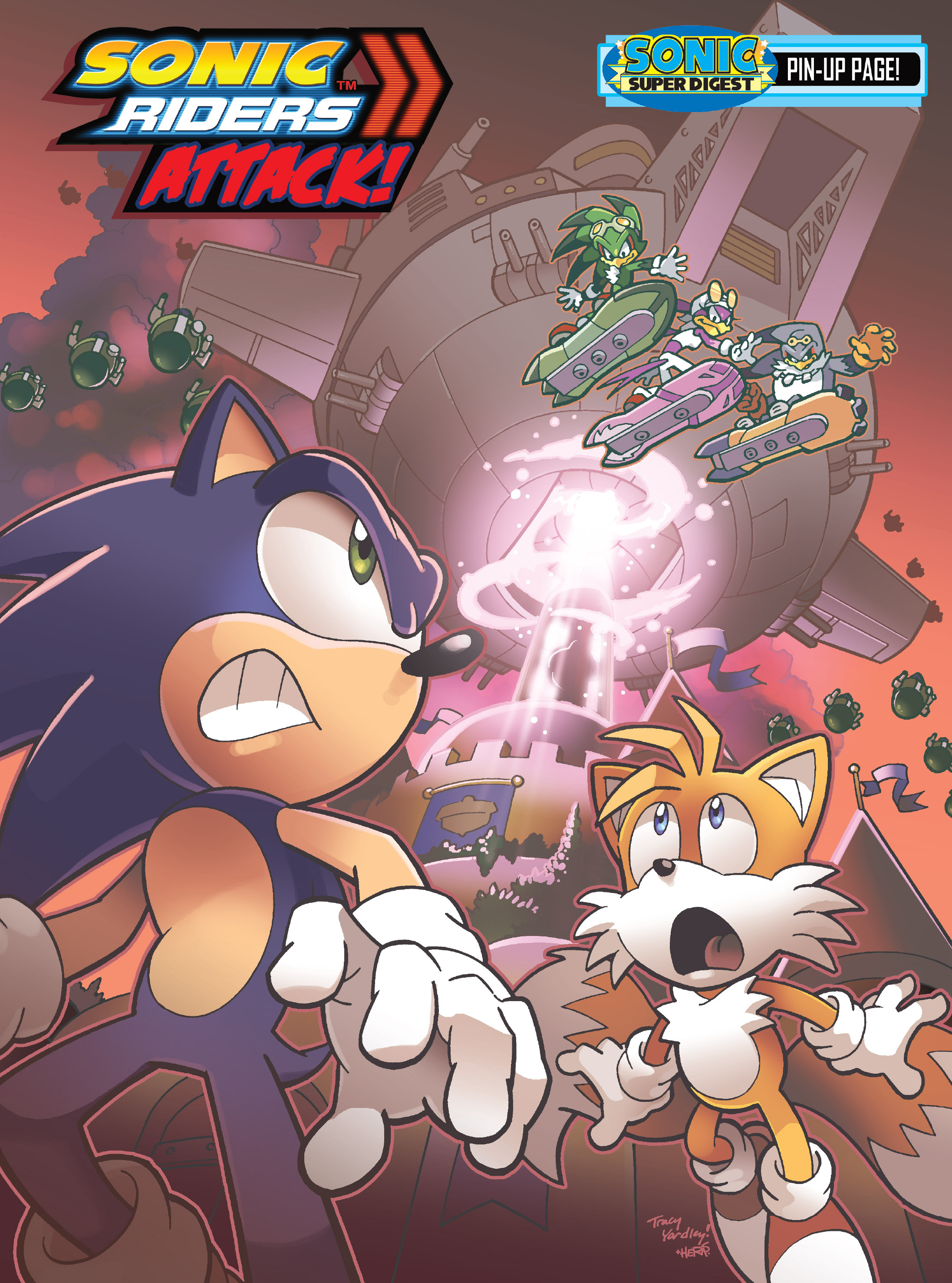 Read online Sonic Super Digest comic -  Issue #8 - 16