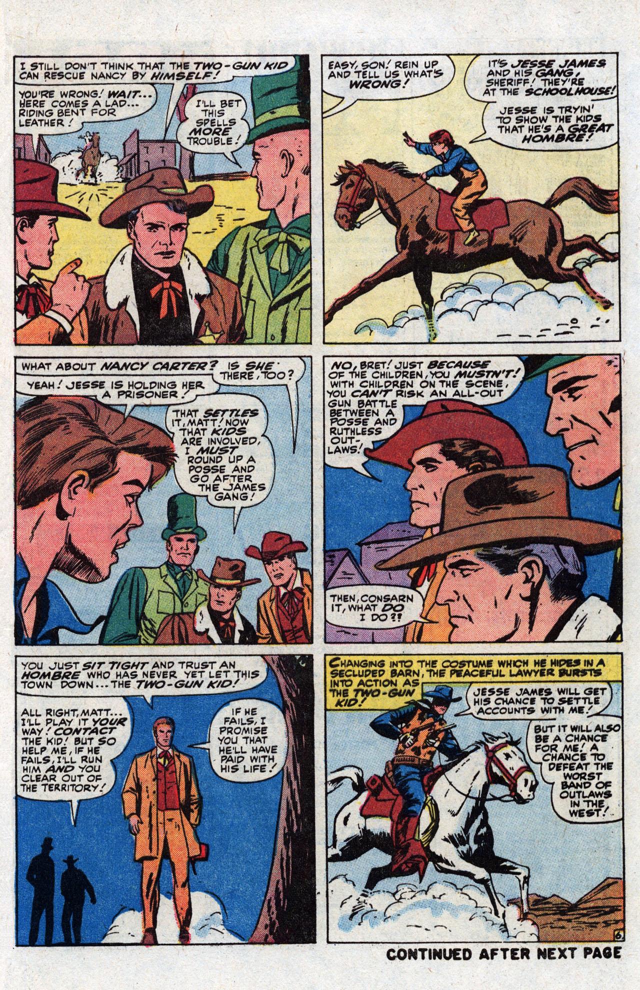 Read online Two-Gun Kid comic -  Issue #111 - 9