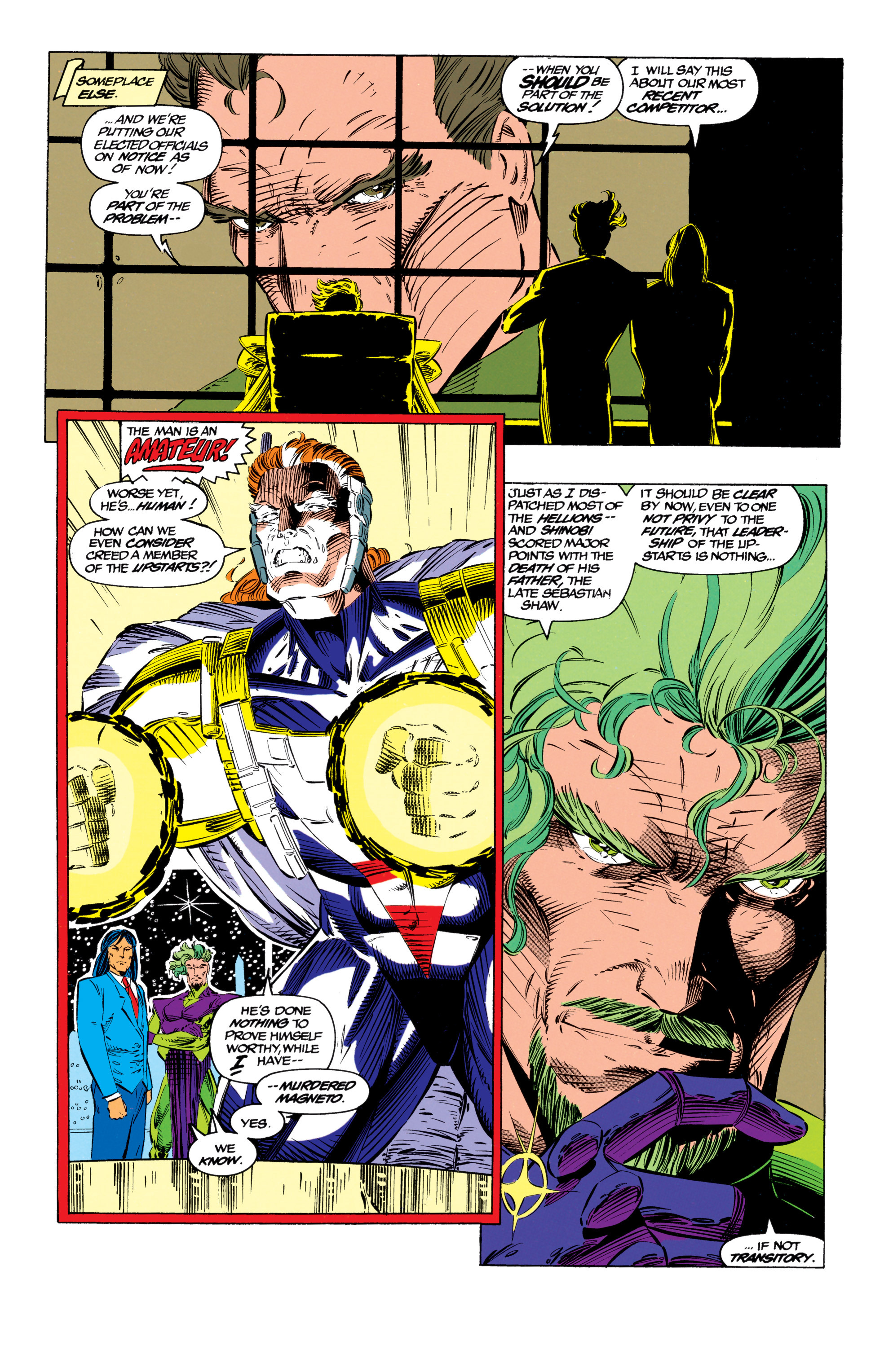 Read online Uncanny X-Men (1963) comic -  Issue #299 - 11