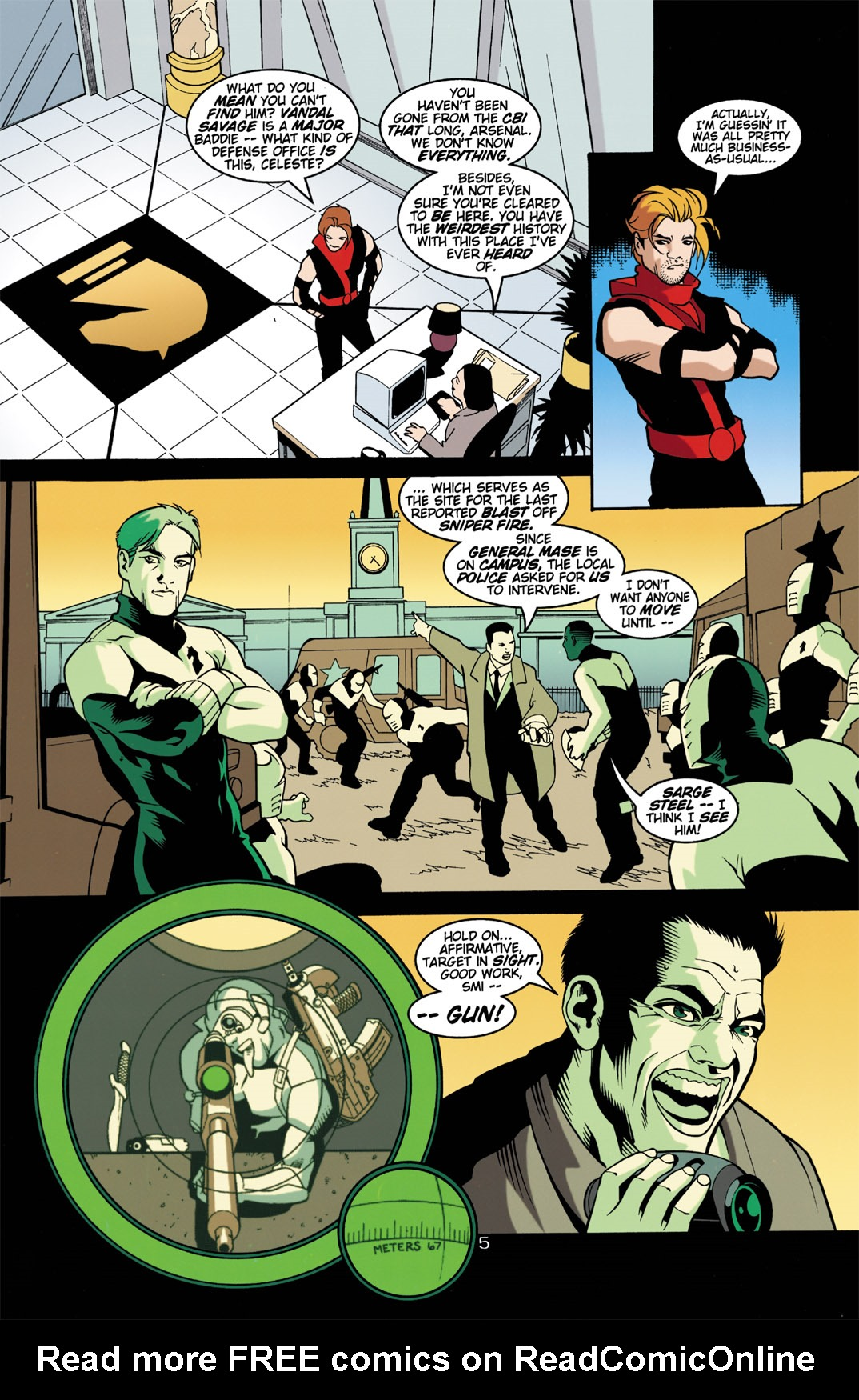 Read online Arsenal comic -  Issue #2 - 6