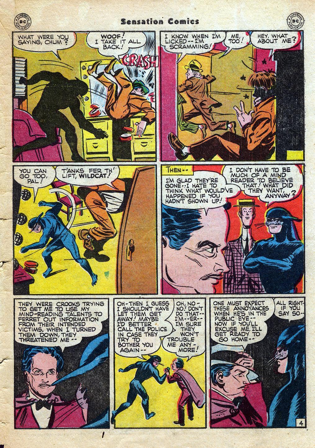 Read online Sensation (Mystery) Comics comic -  Issue #60 - 45