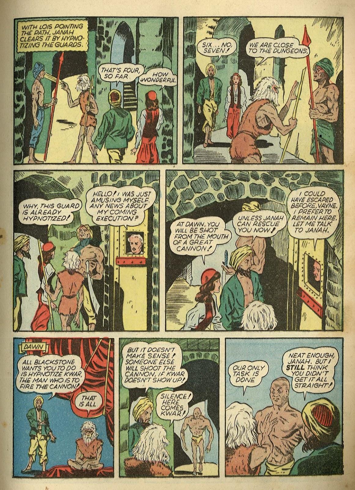 Read online Super-Magician Comics comic -  Issue #1 - 23