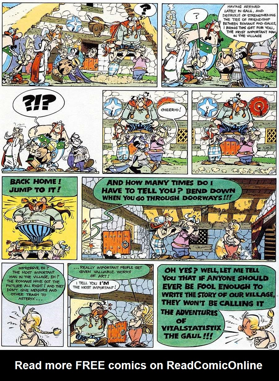 Read online Asterix comic -  Issue #15 - 15