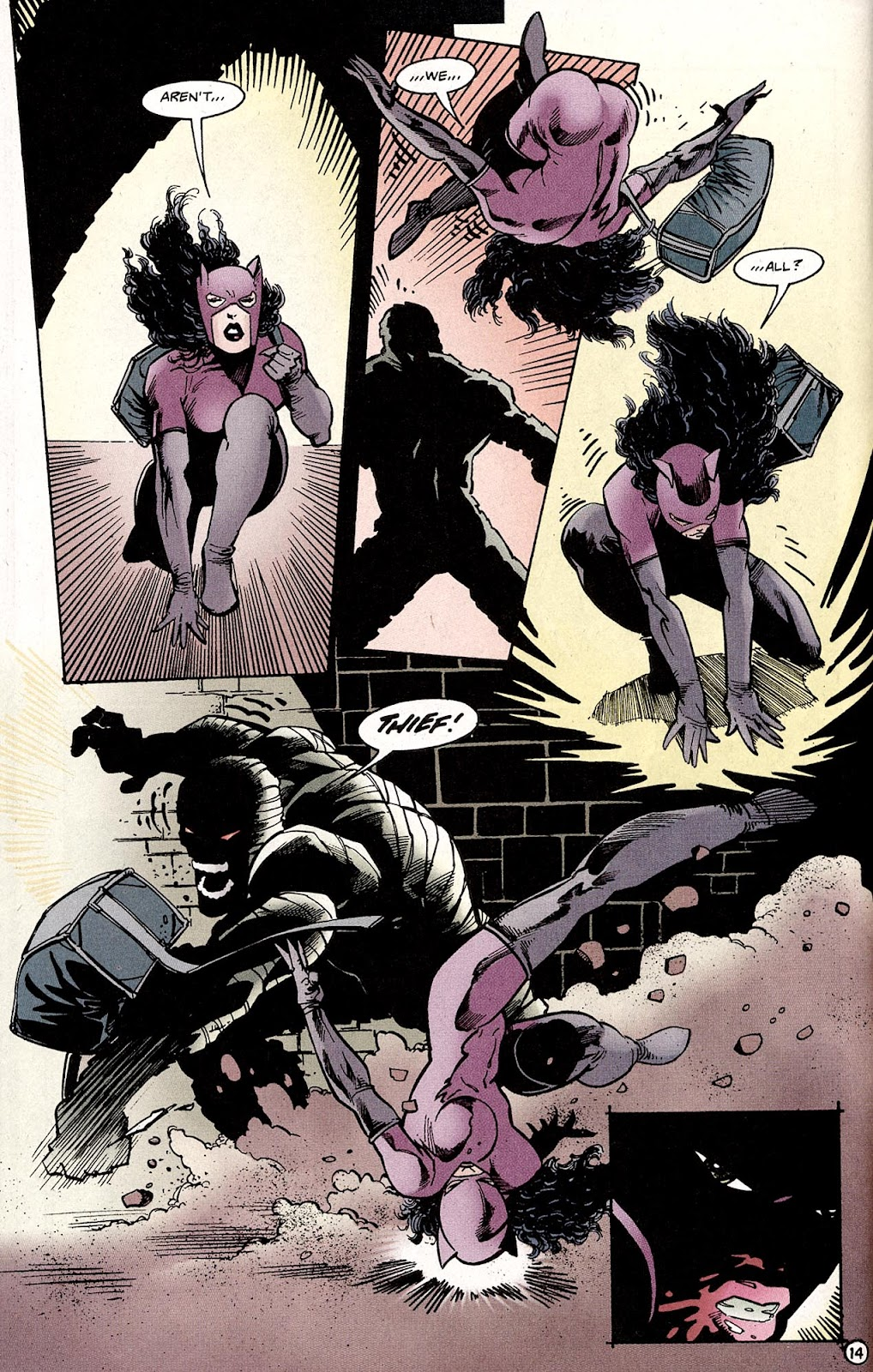 Catwoman (1993) Annual 4 #4 - English 16