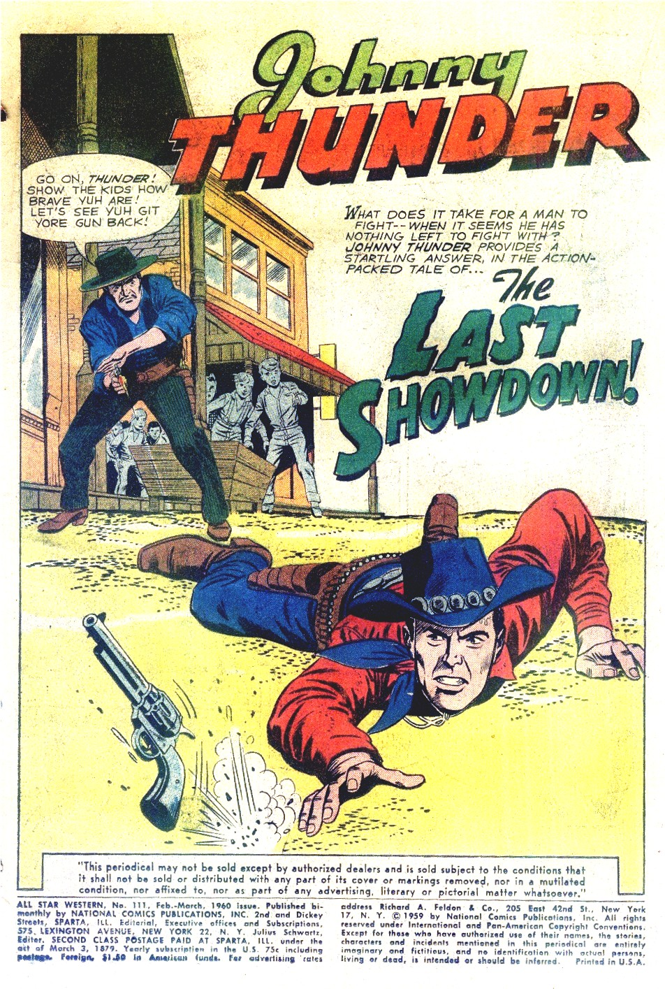 Read online All-Star Western (1951) comic -  Issue #111 - 3