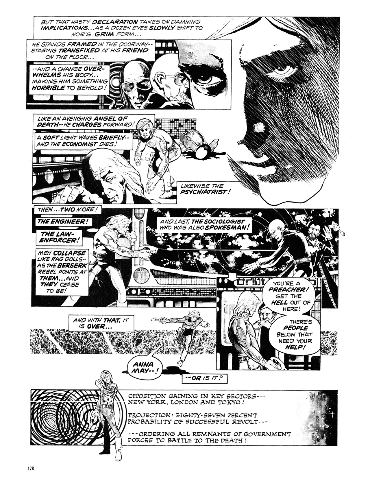Read online Eerie Archives comic -  Issue # TPB 10 - 179