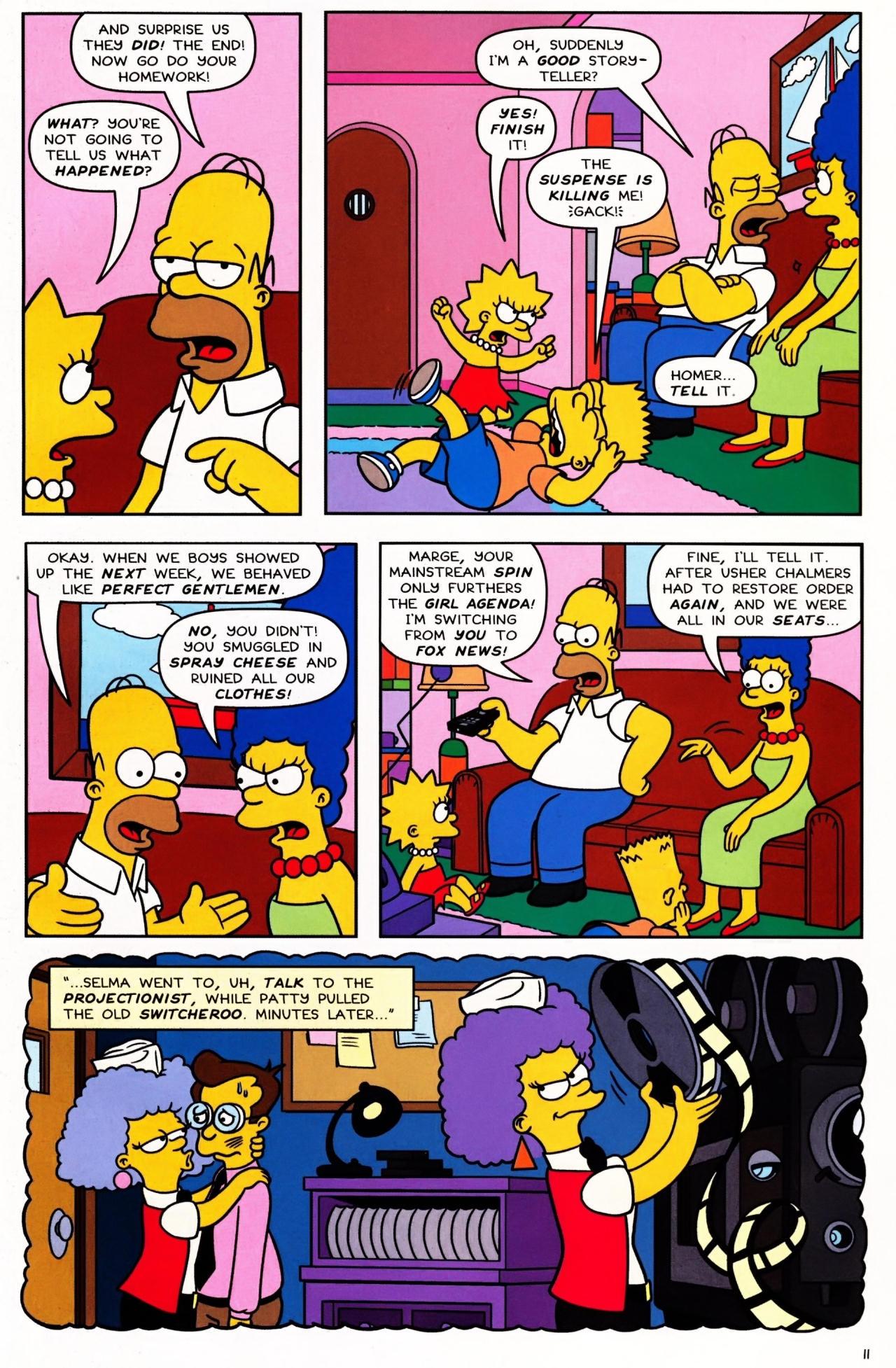 Read online Simpsons Comics Presents Bart Simpson comic -  Issue #42 - 13