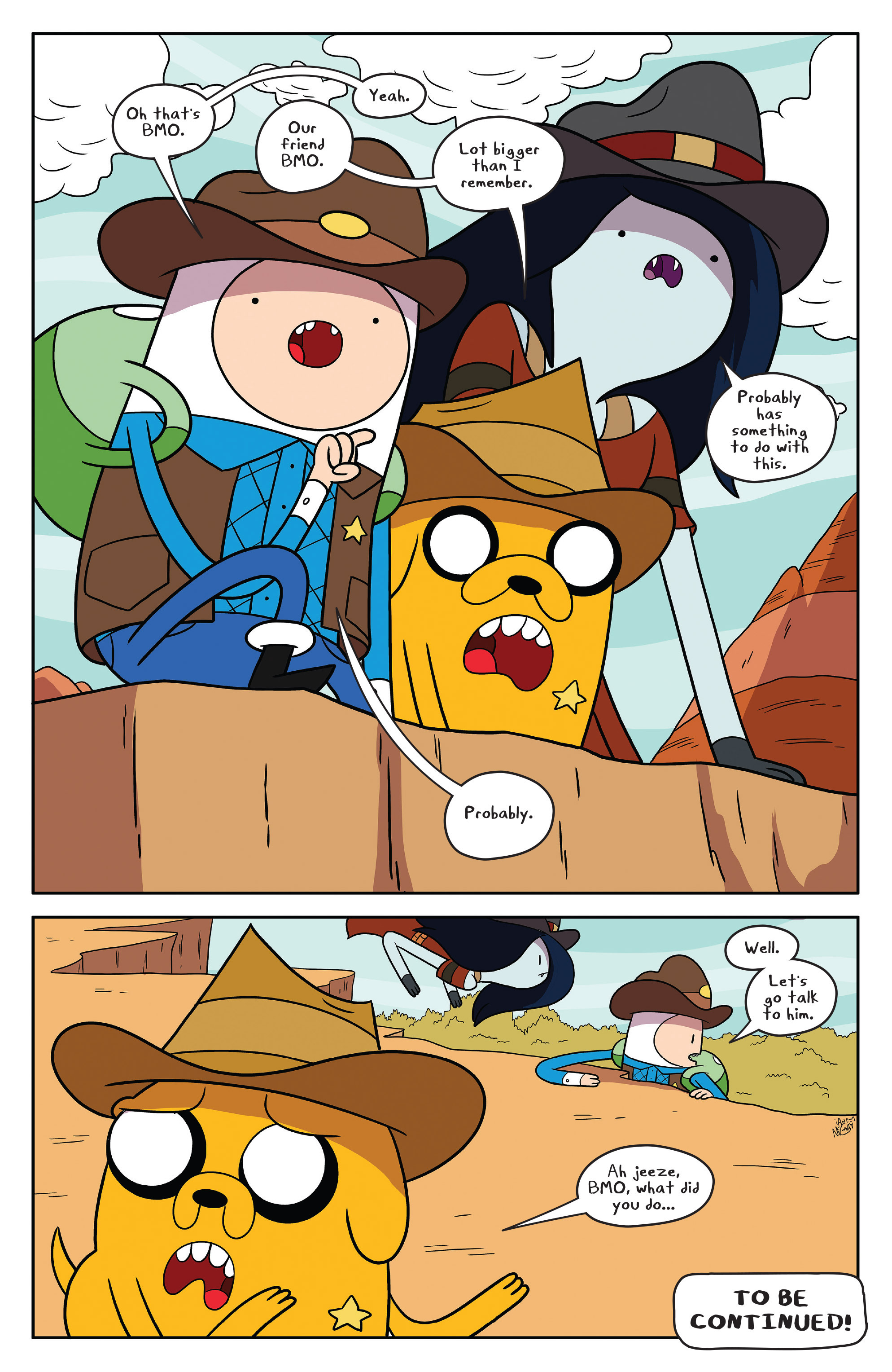 Read online Adventure Time comic -  Issue #54 - 22