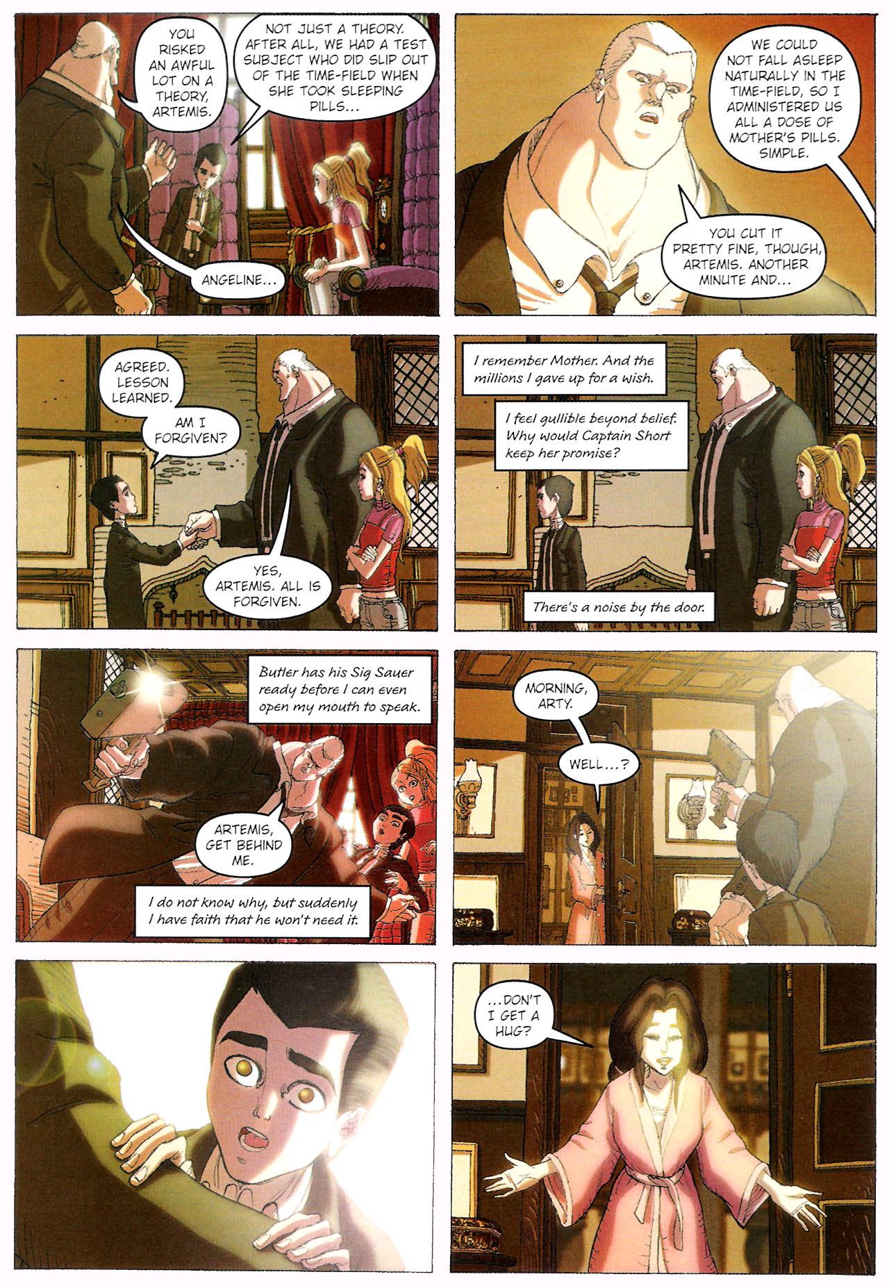 Read online Artemis Fowl: The Graphic Novel comic -  Issue #Artemis Fowl: The Graphic Novel Full - 111