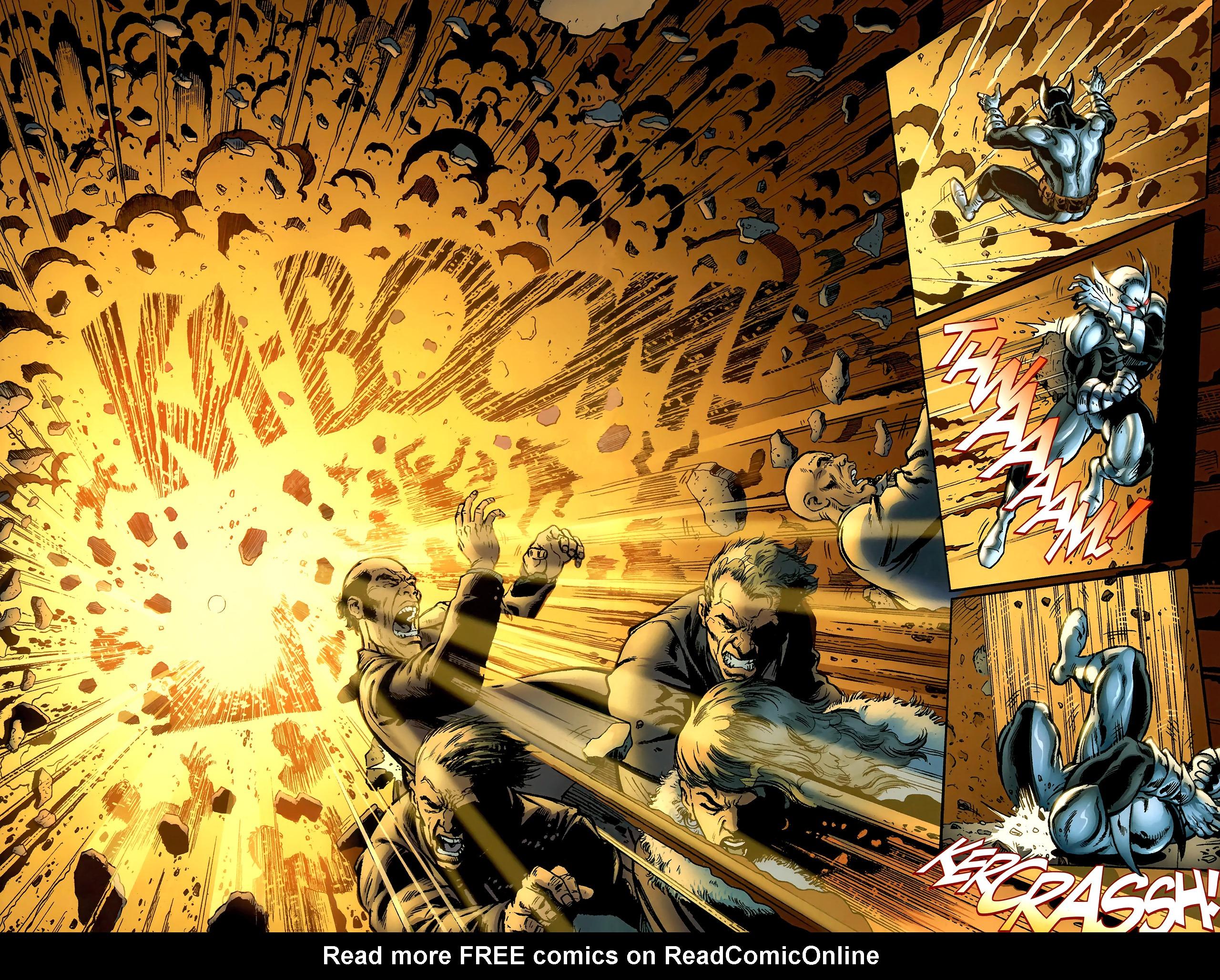 Read online ShadowHawk (2010) comic -  Issue #1 - 5