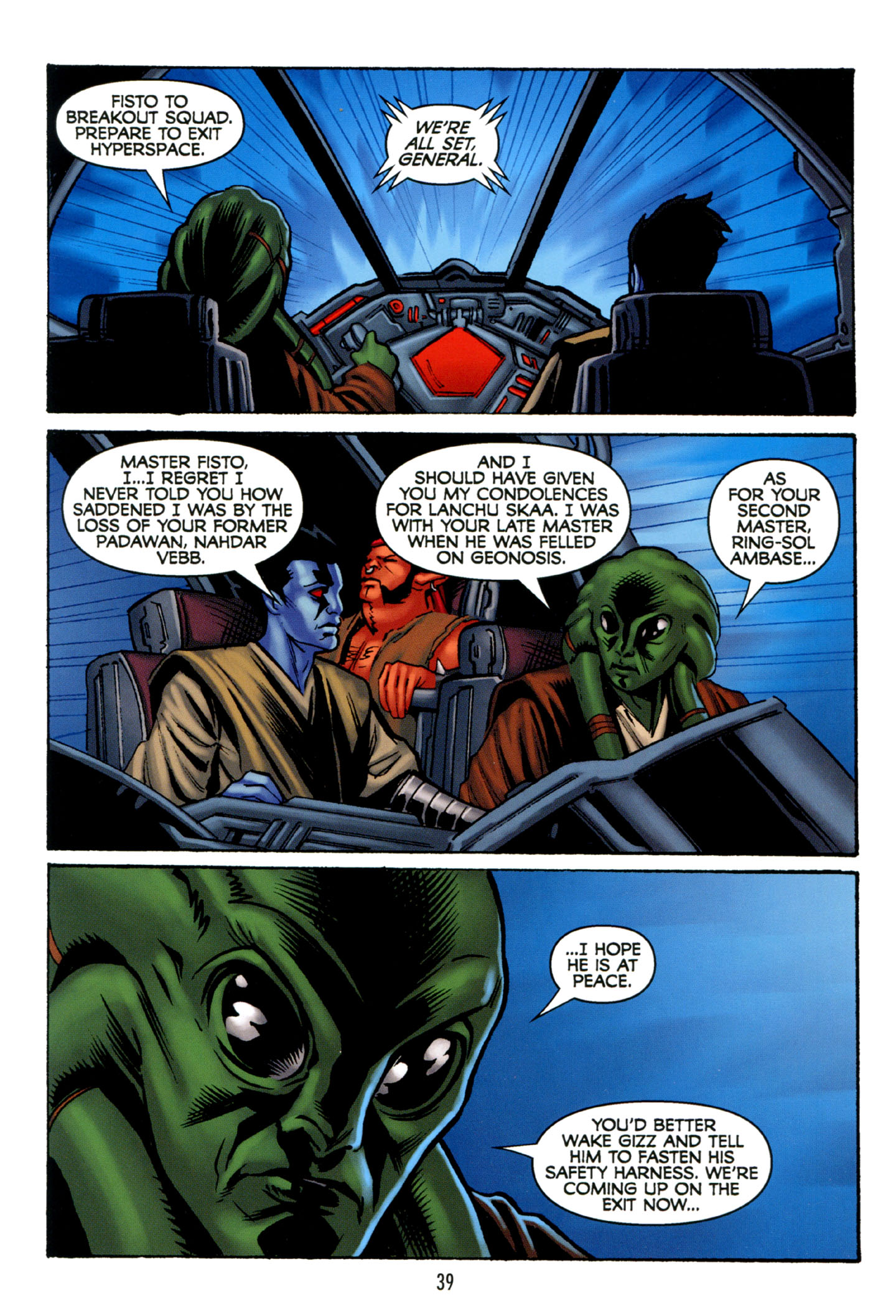 Read online Star Wars: The Clone Wars - Strange Allies comic -  Issue # Full - 40