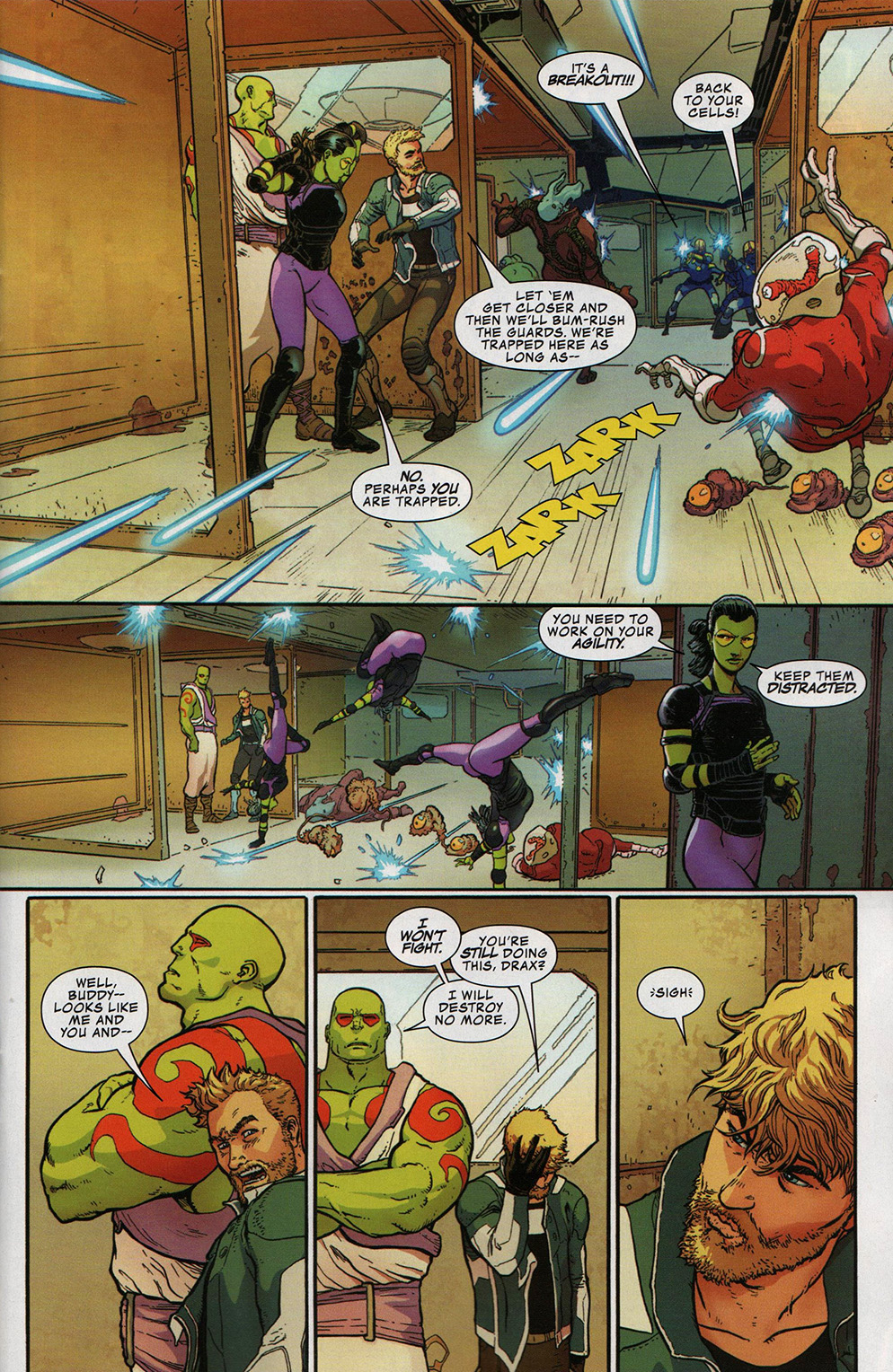 Read online Free Comic Book Day 2017 comic -  Issue # All-New Guardians of the Galaxy - 6