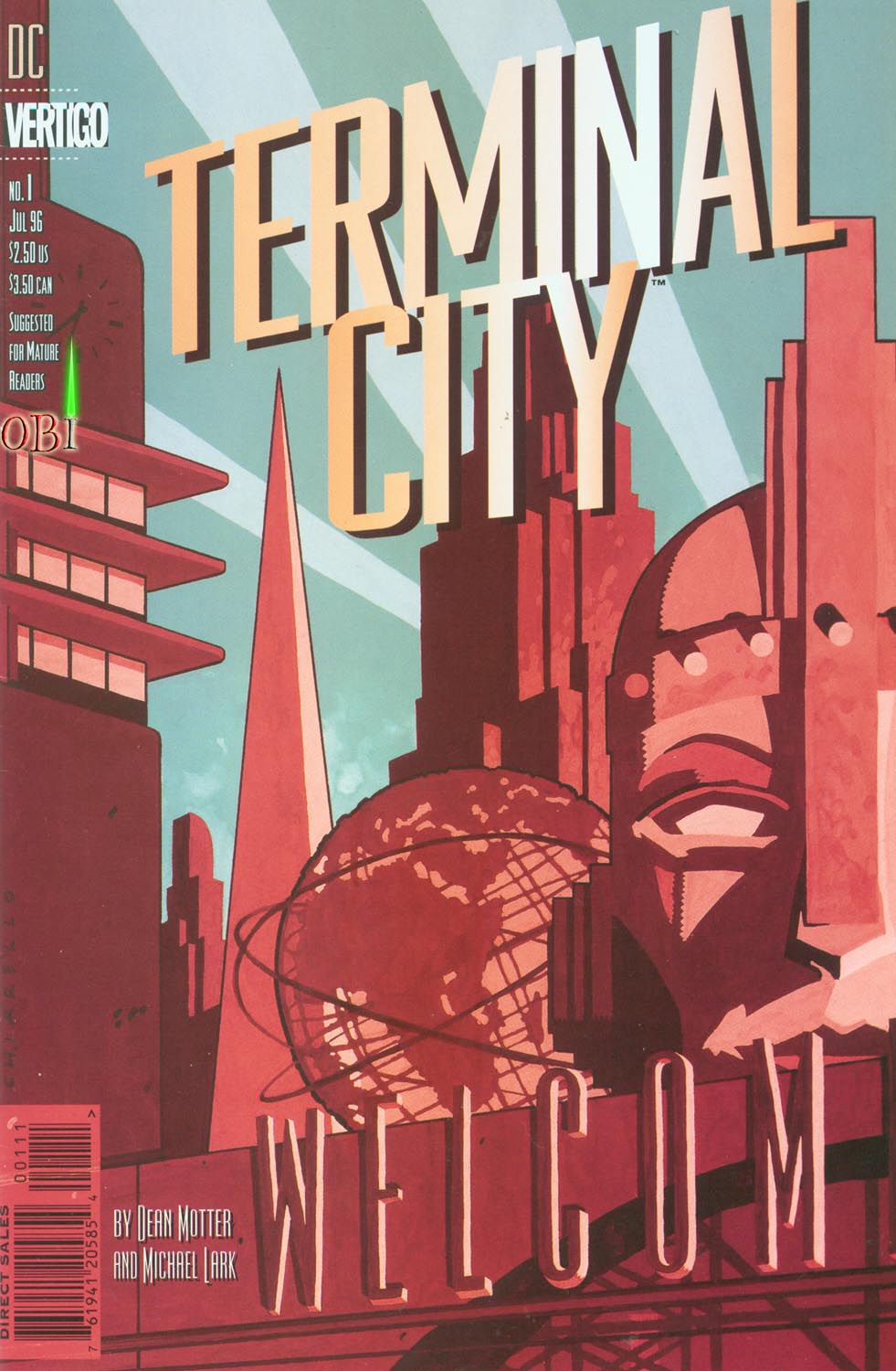 Terminal City issue 1 - Page 1