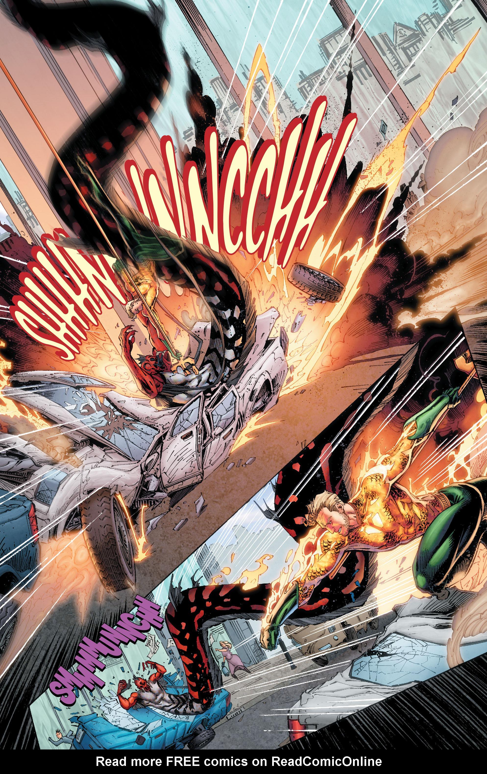 Read online Aquaman (2011) comic -  Issue #50 - 23