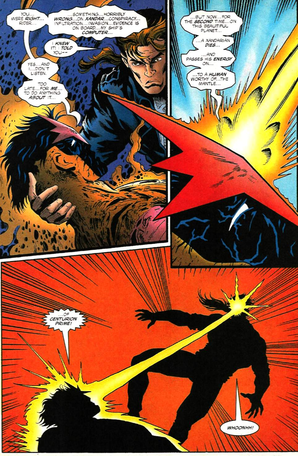The New Warriors Issue #75 #79 - English 31
