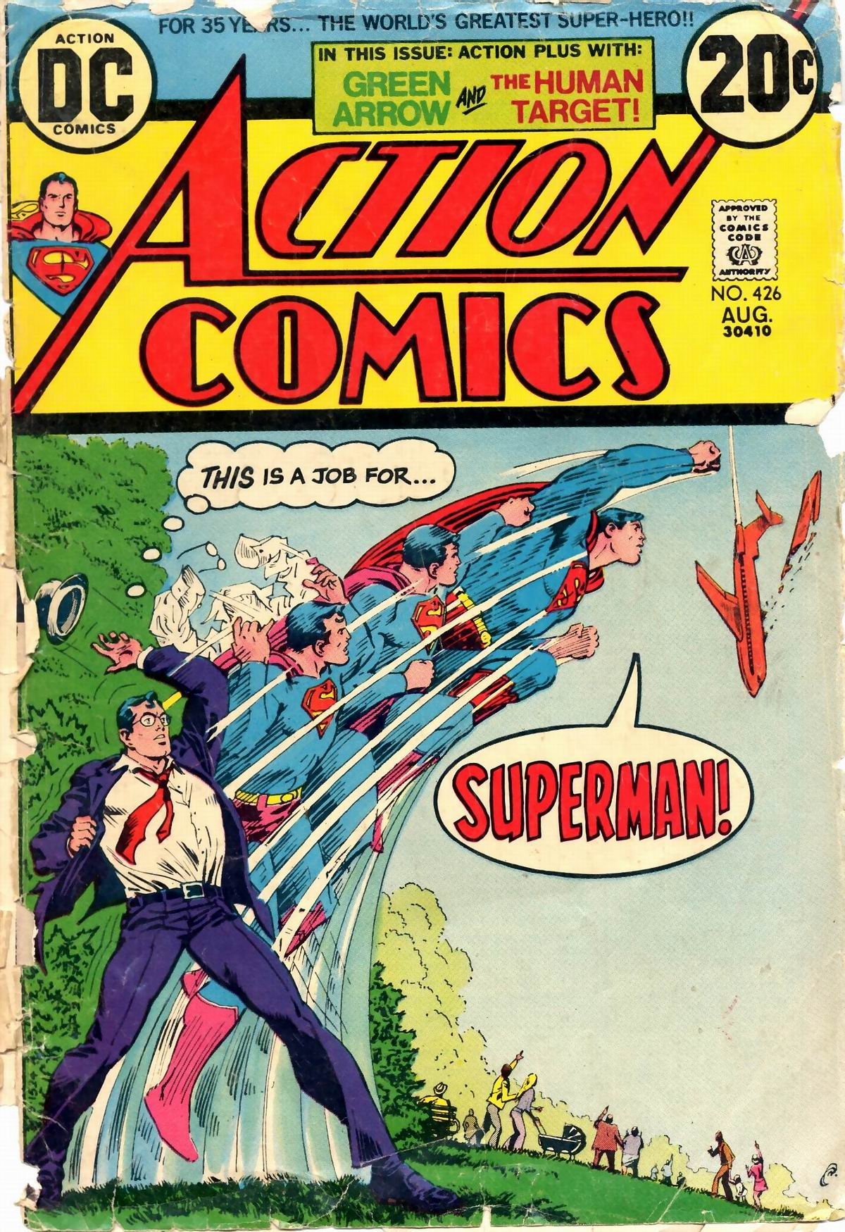 Read online Action Comics (1938) comic -  Issue #426 - 1