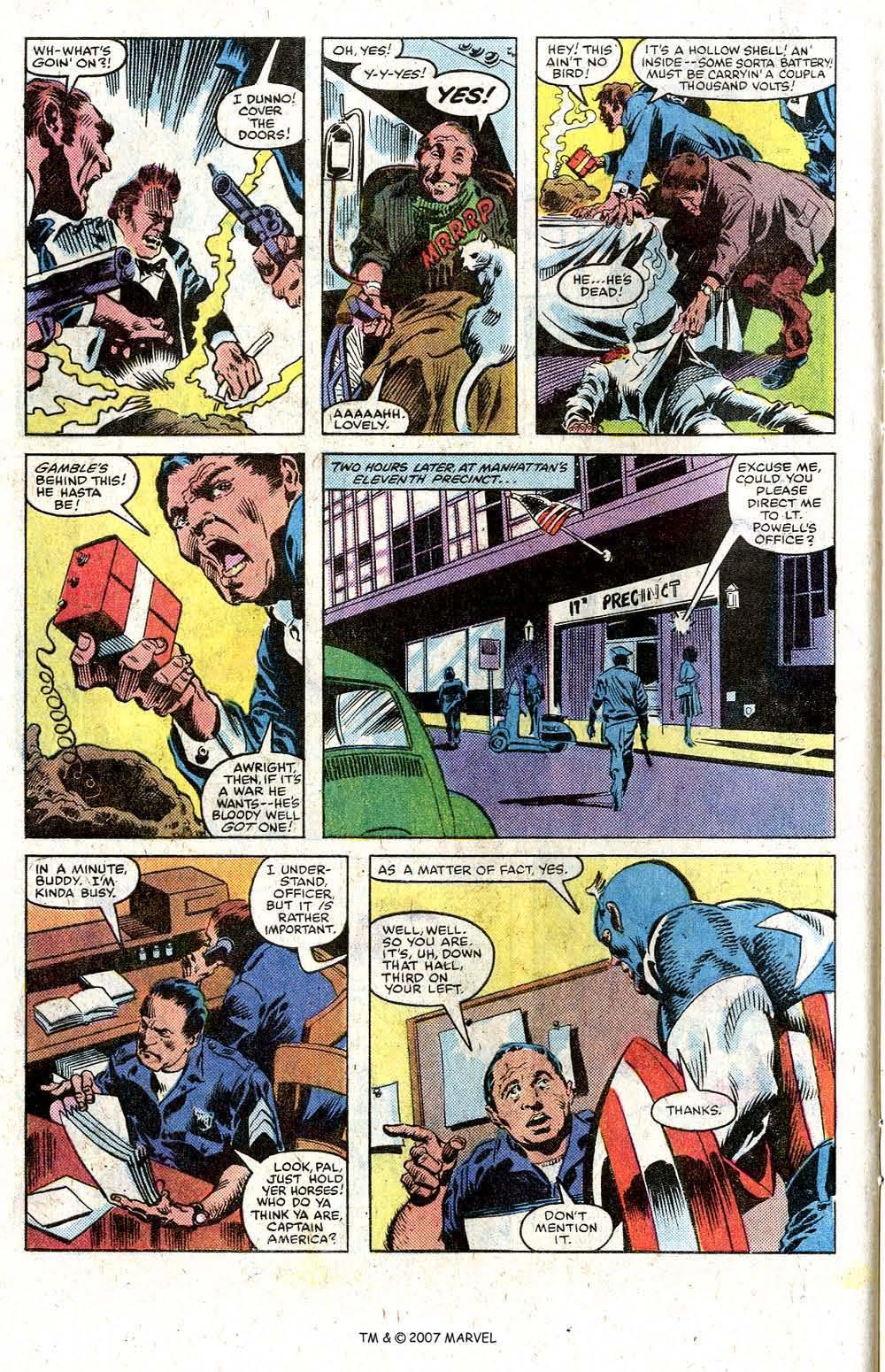 Read online Captain America (1968) comic -  Issue # _Annual 5 - 20