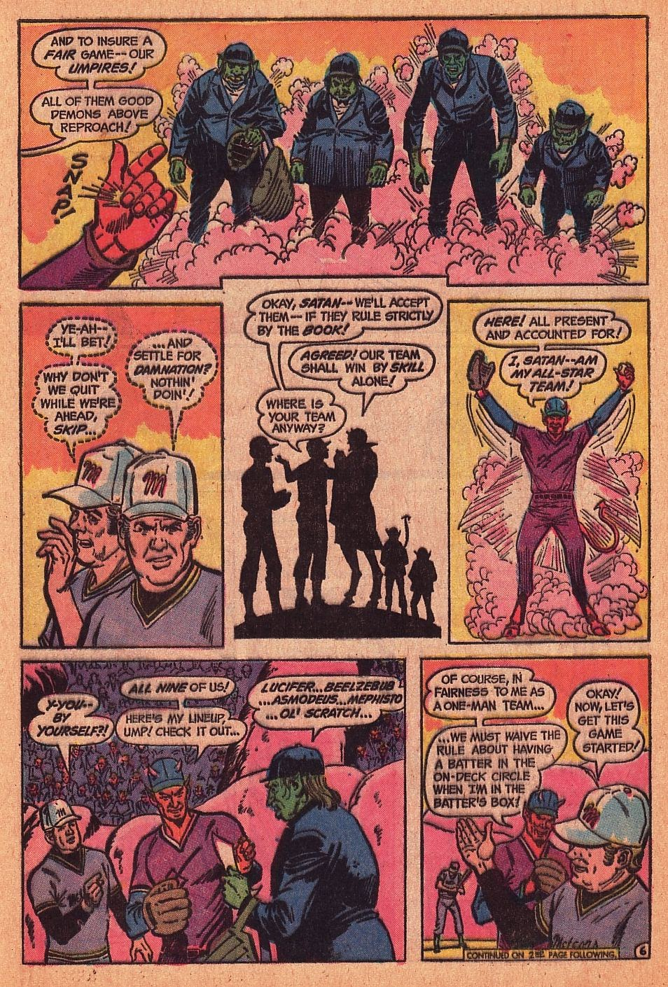Read online Strange Sports Stories (1973) comic -  Issue #1 - 7