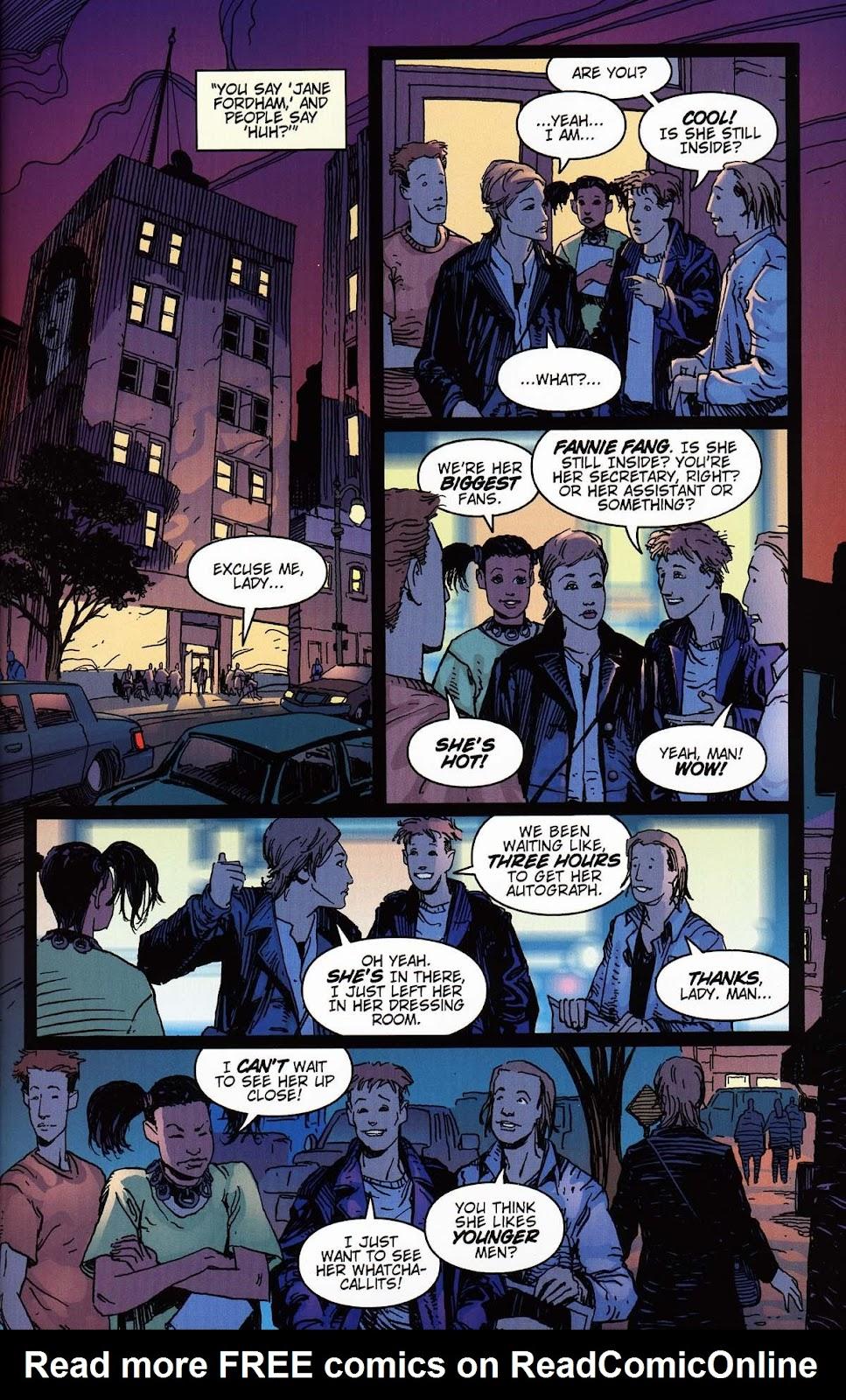 Read online Vampire the Masquerade comic -  Issue # Toreador - 15