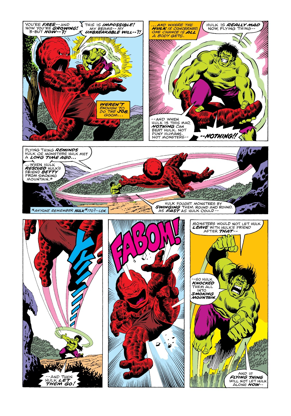 Read online Marvel Masterworks: The Incredible Hulk comic -  Issue # TPB 12 (Part 1) - 69