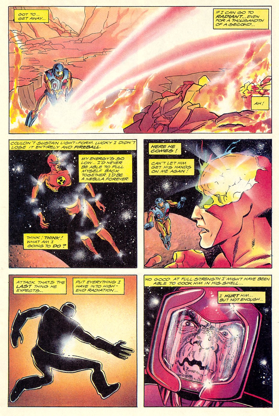 Read online Solar, Man of the Atom comic -  Issue #7 - 15